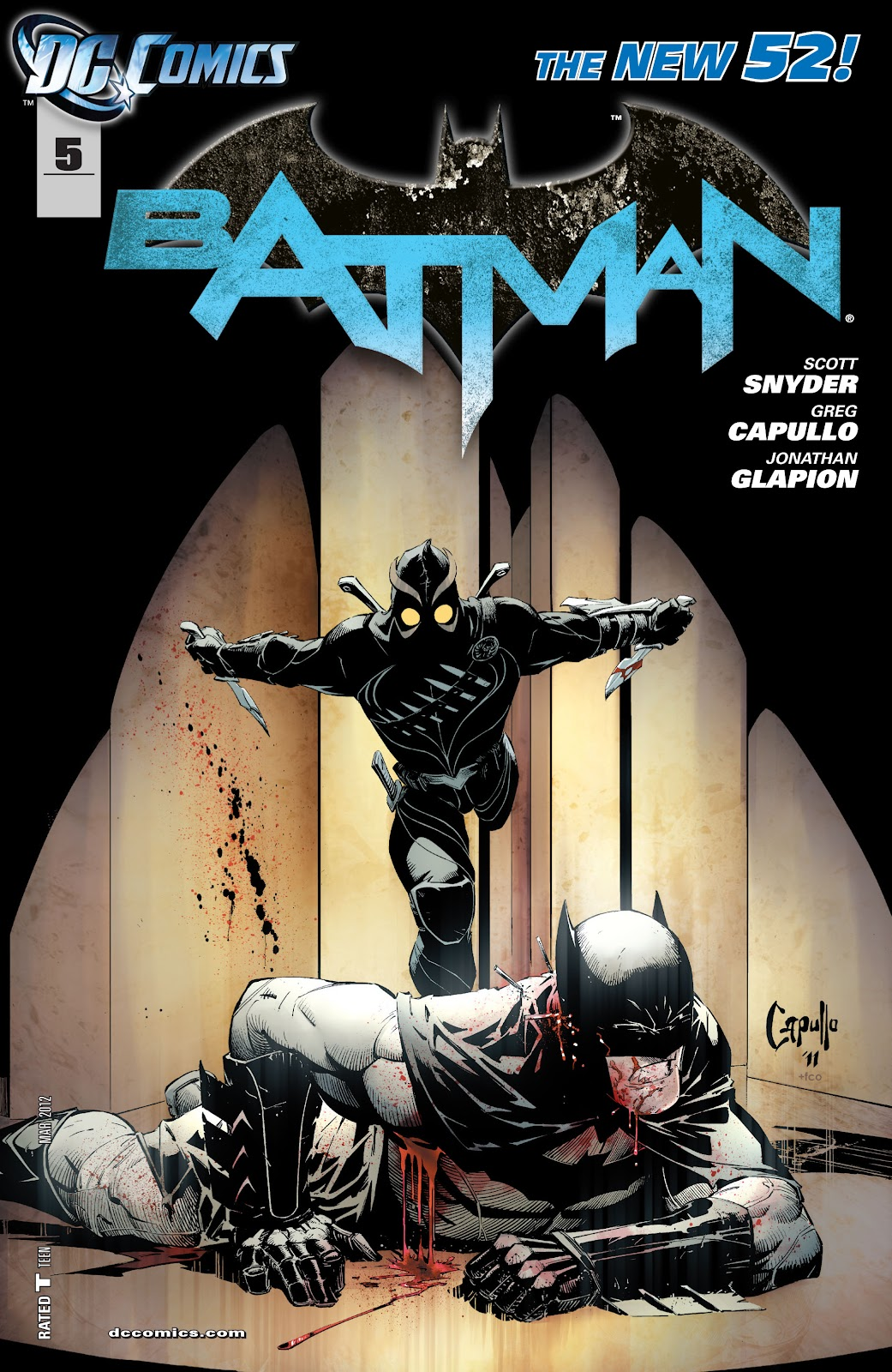 Batman (2011) Issue #5 #20 - English 1