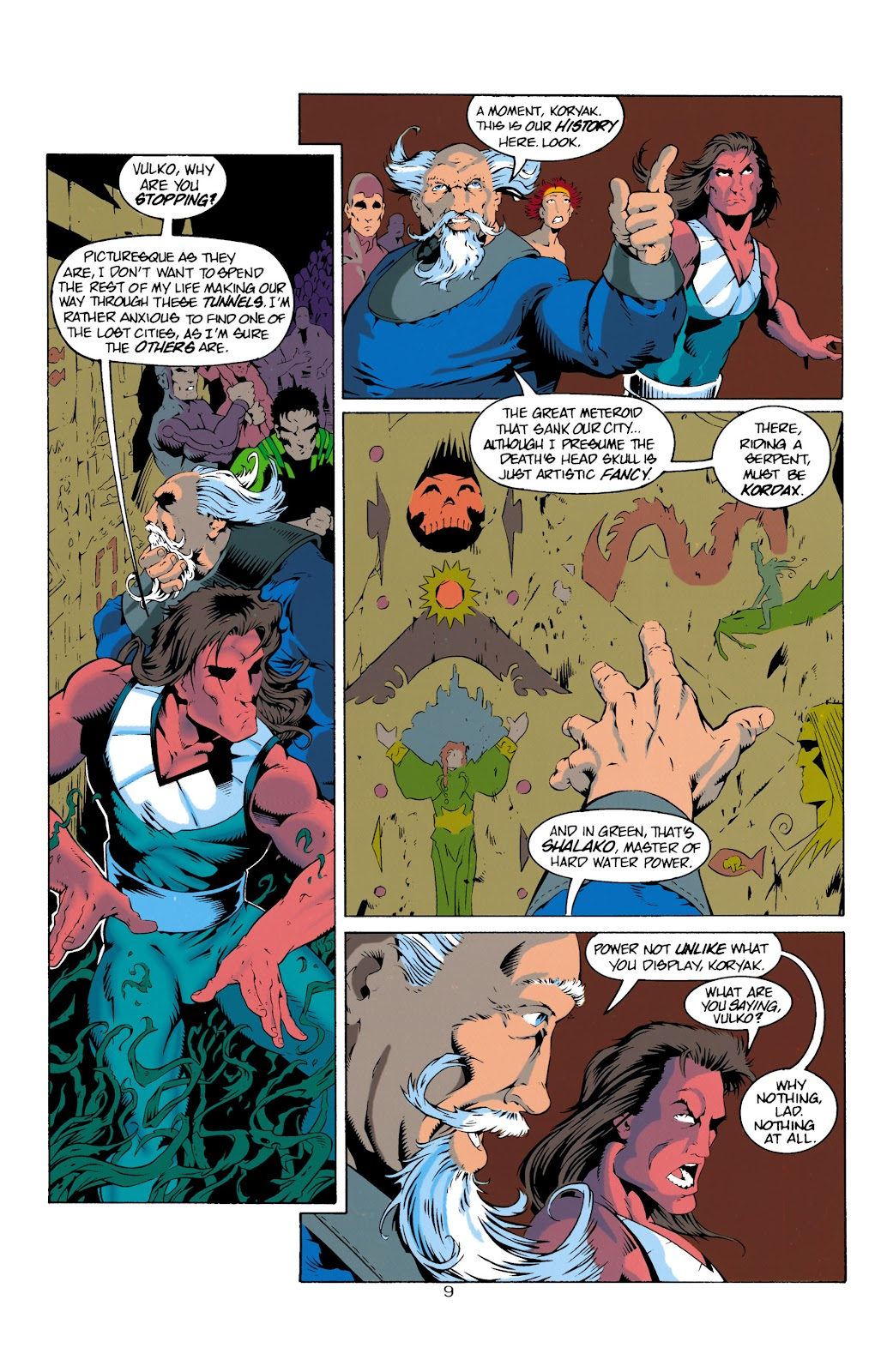 Aquaman (1994) Issue #14 #20 - English 10
