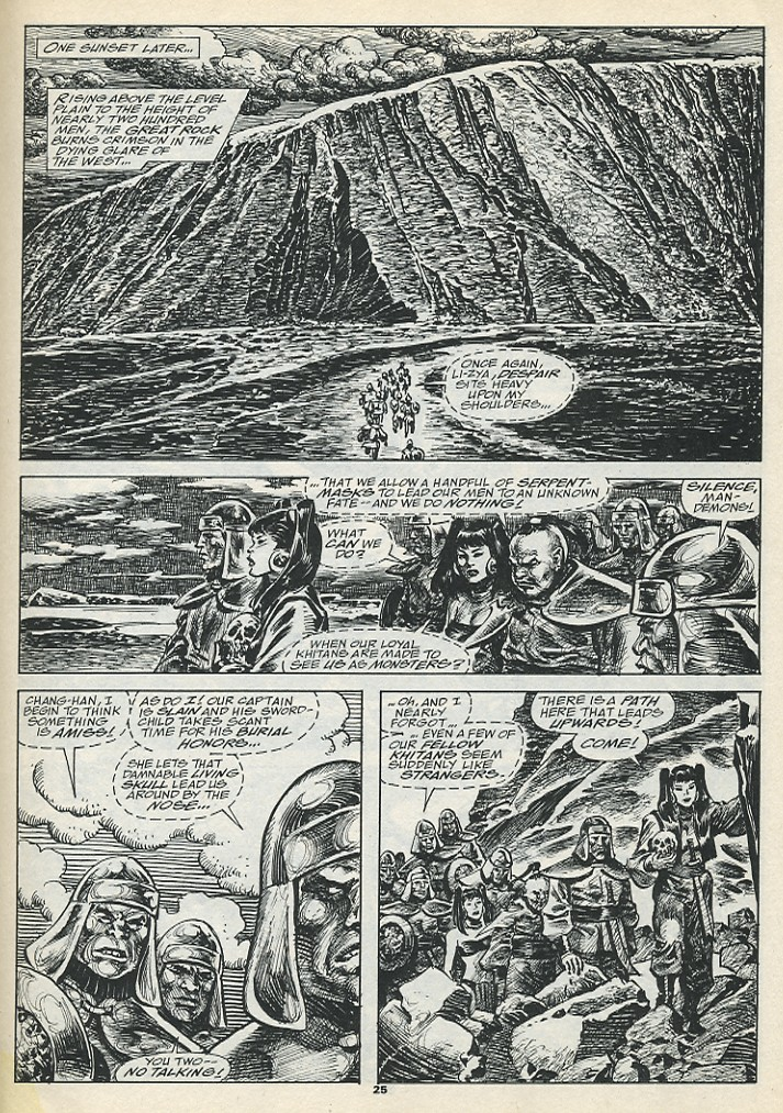 The Savage Sword Of Conan Issue #193 #194 - English 27