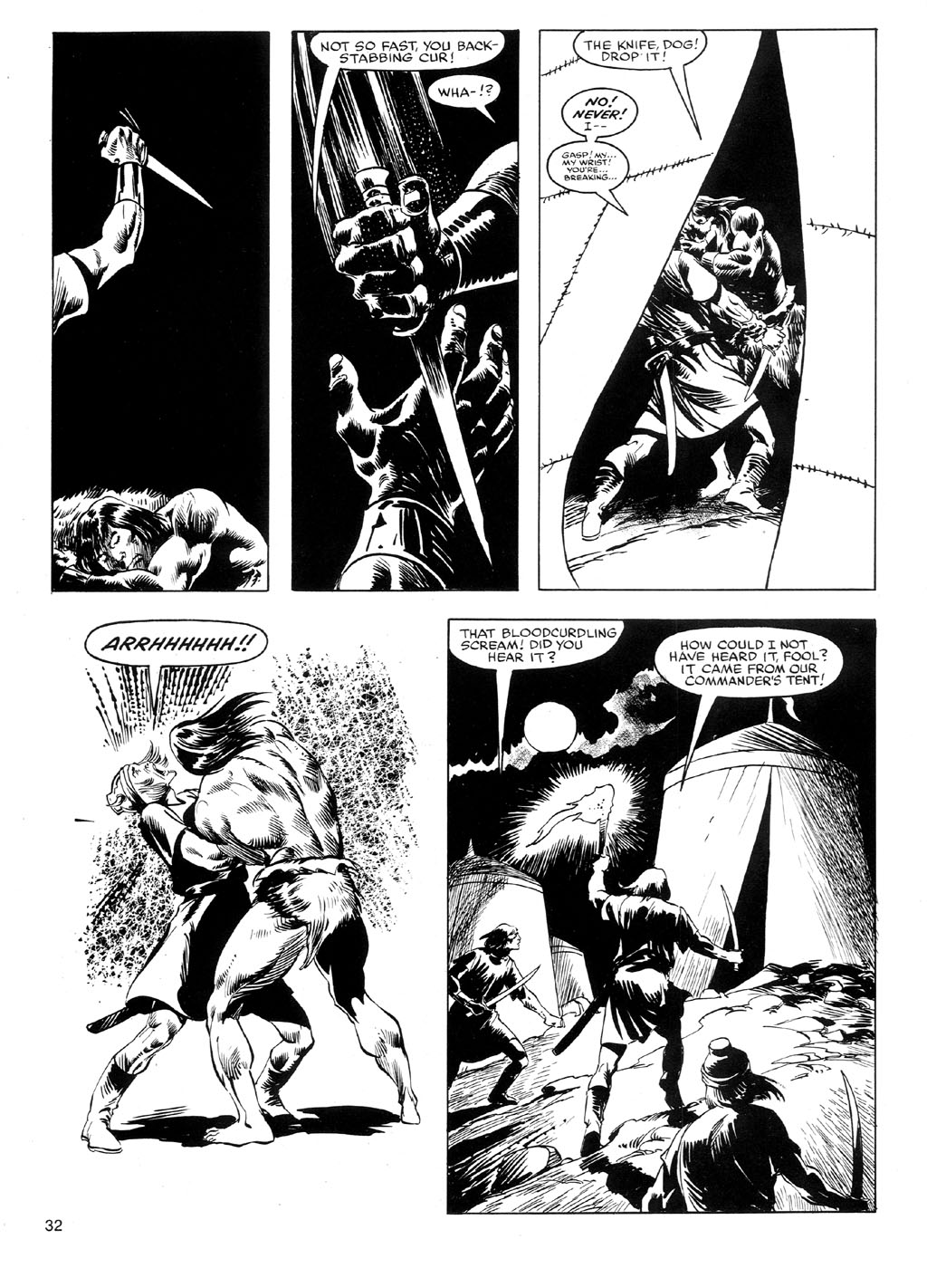 The Savage Sword Of Conan Issue #91 #92 - English 31