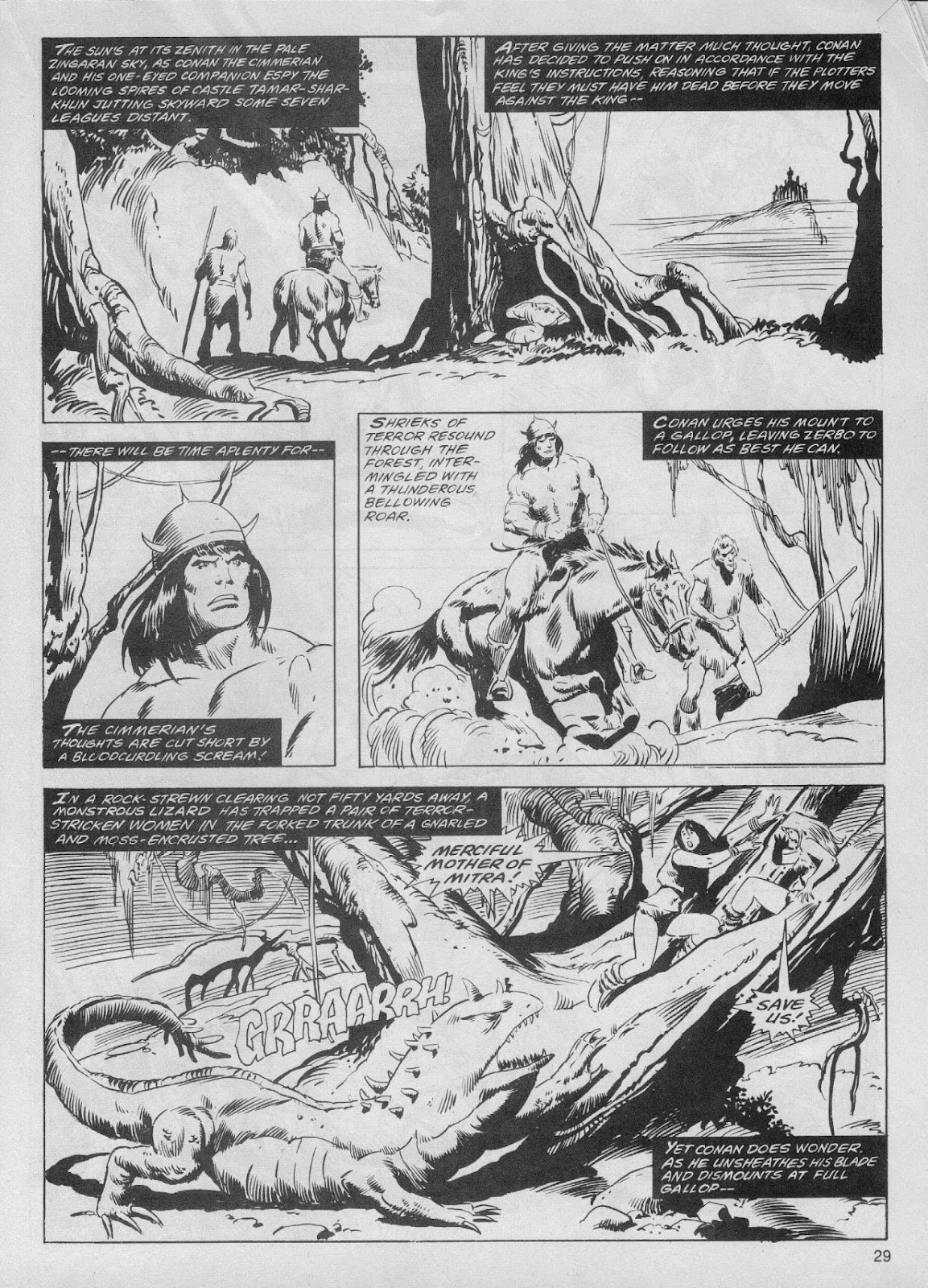 The Savage Sword Of Conan Issue #61 #62 - English 29