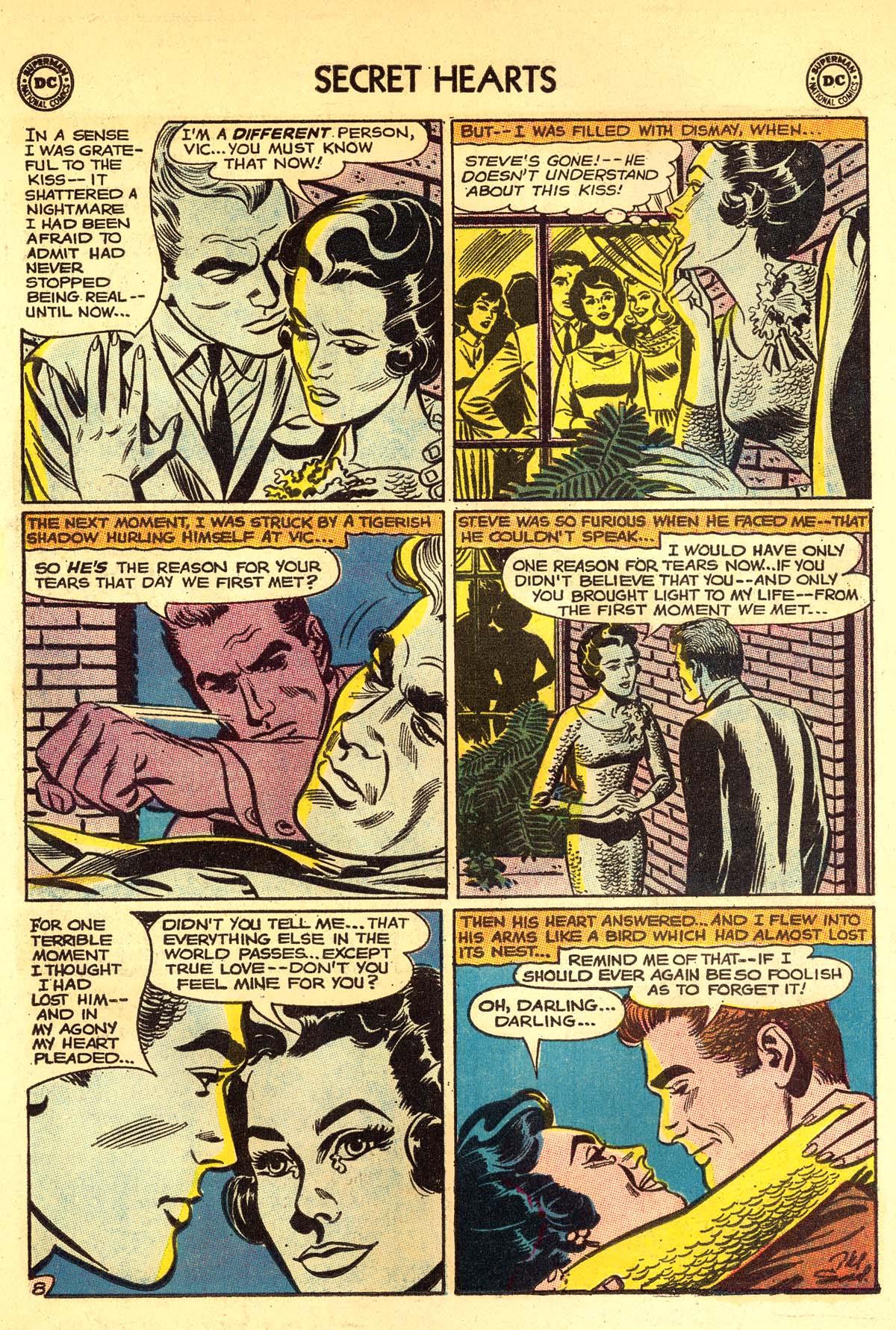 Read online Secret Hearts comic -  Issue #89 - 34