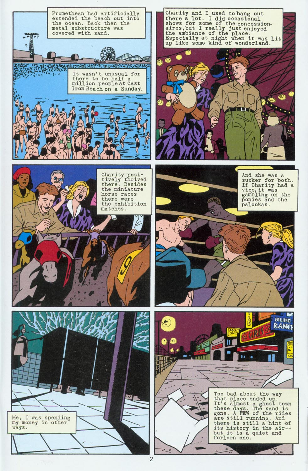 Read online Terminal City comic -  Issue #6 - 3