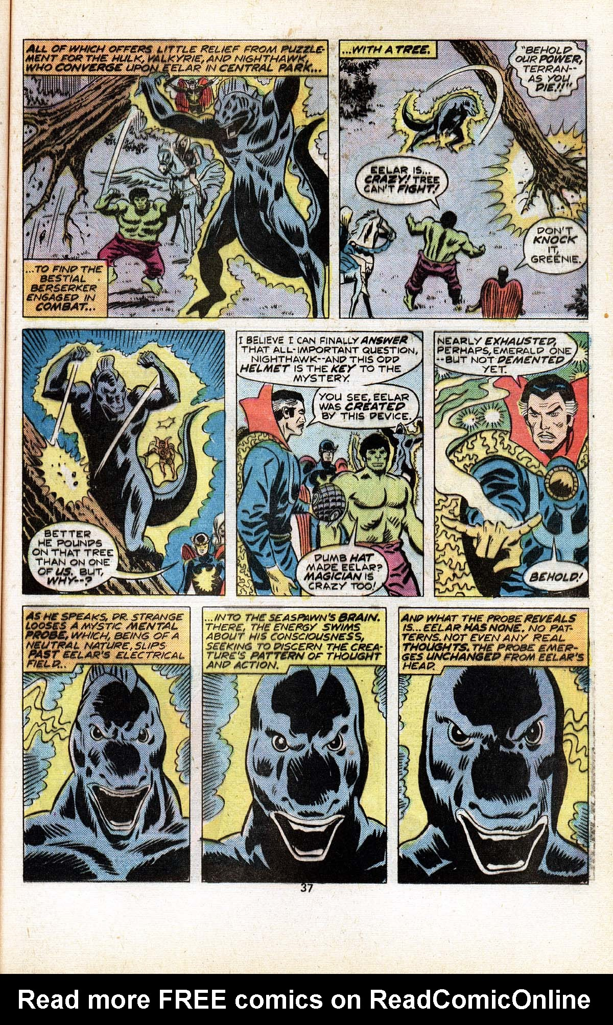 Read online Giant-Size Defenders comic -  Issue #5 - 39