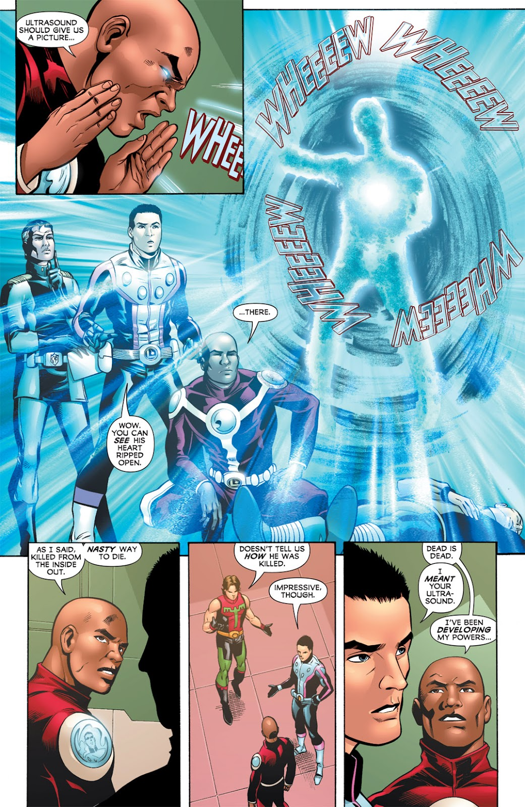 Legion of Super-Heroes (2010) Issue #7 #8 - English 5