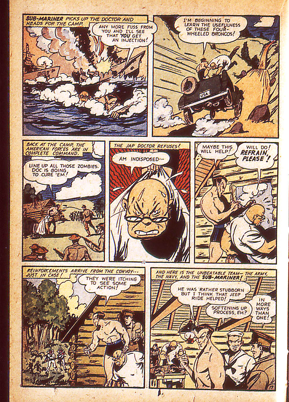 Sub-Mariner Comics Issue #8 #8 - English 41