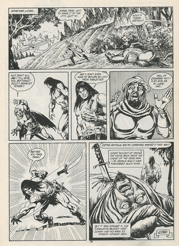 The Savage Sword Of Conan Issue #189 #190 - English 60
