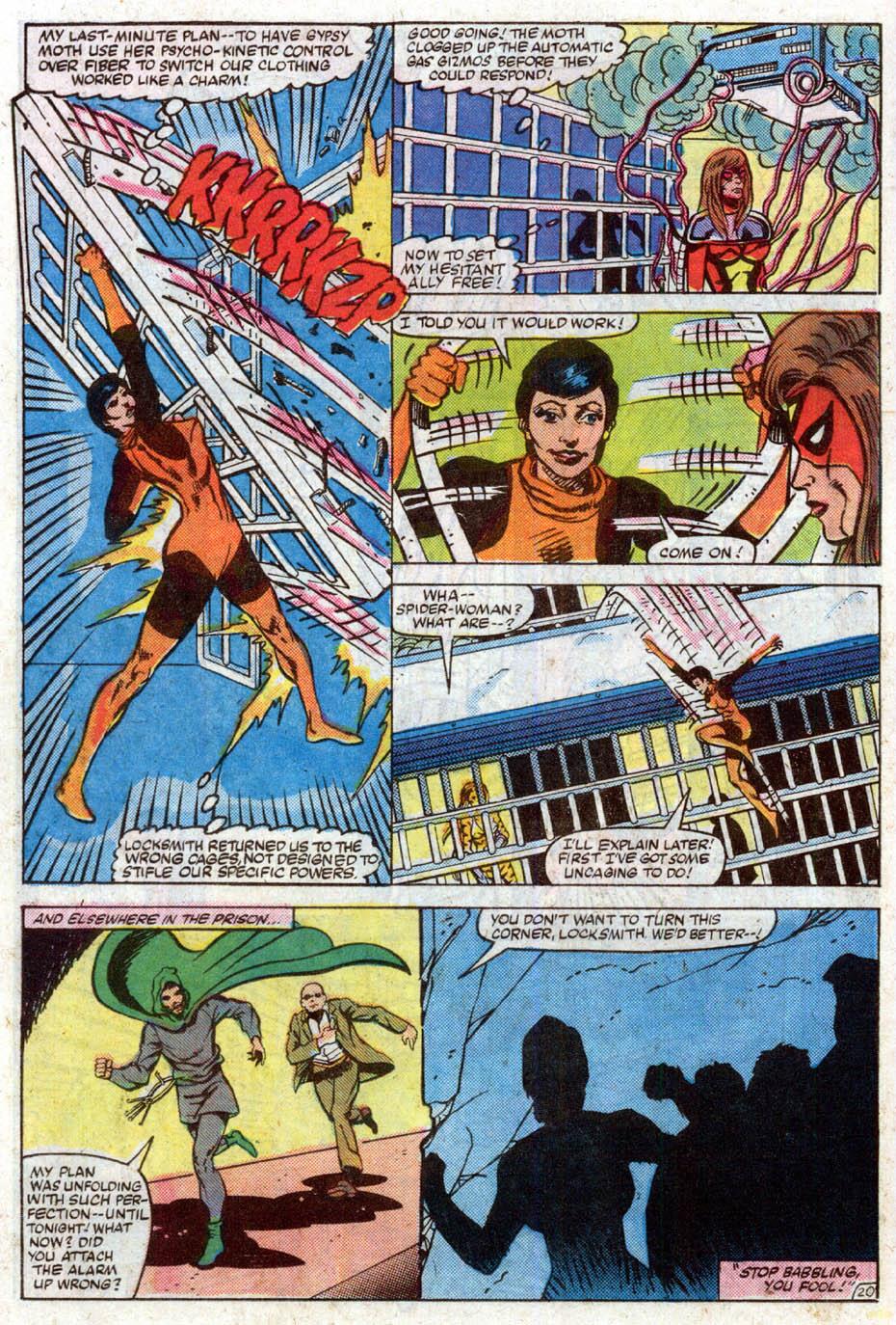 Spider-Woman (1978) #50 #50 - English 22