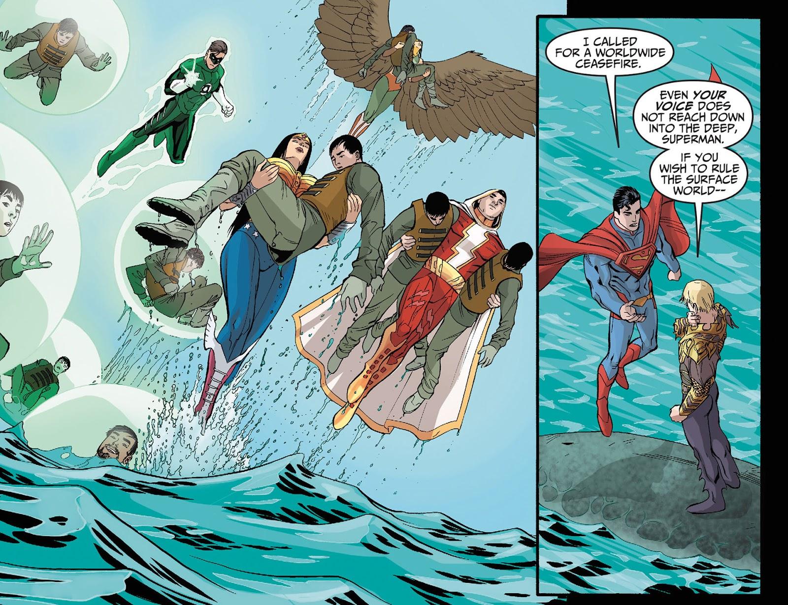 Injustice: Gods Among Us [I] Issue #12 #13 - English 7