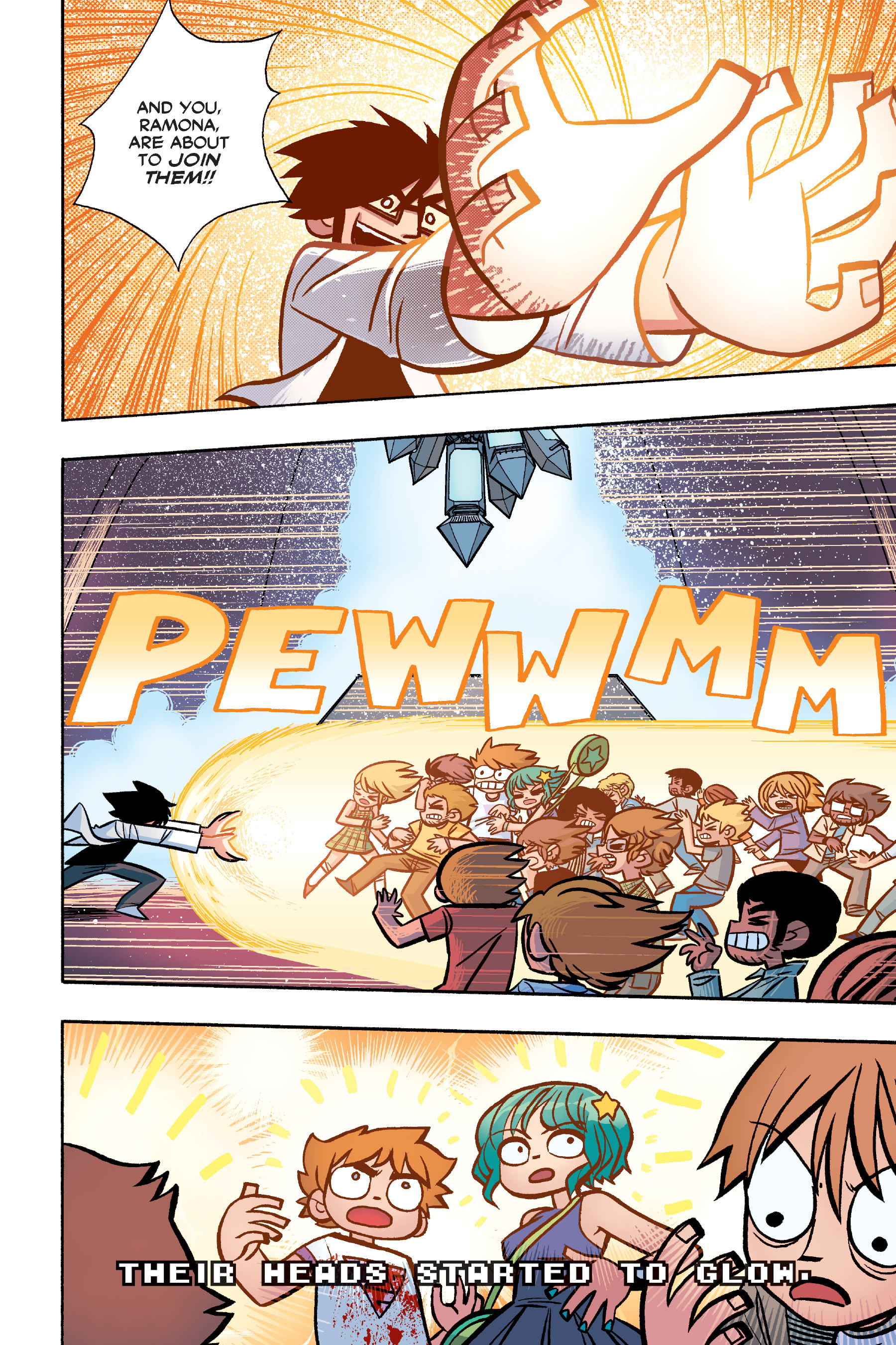 Read online Scott Pilgrim comic -  Issue #6 - 147
