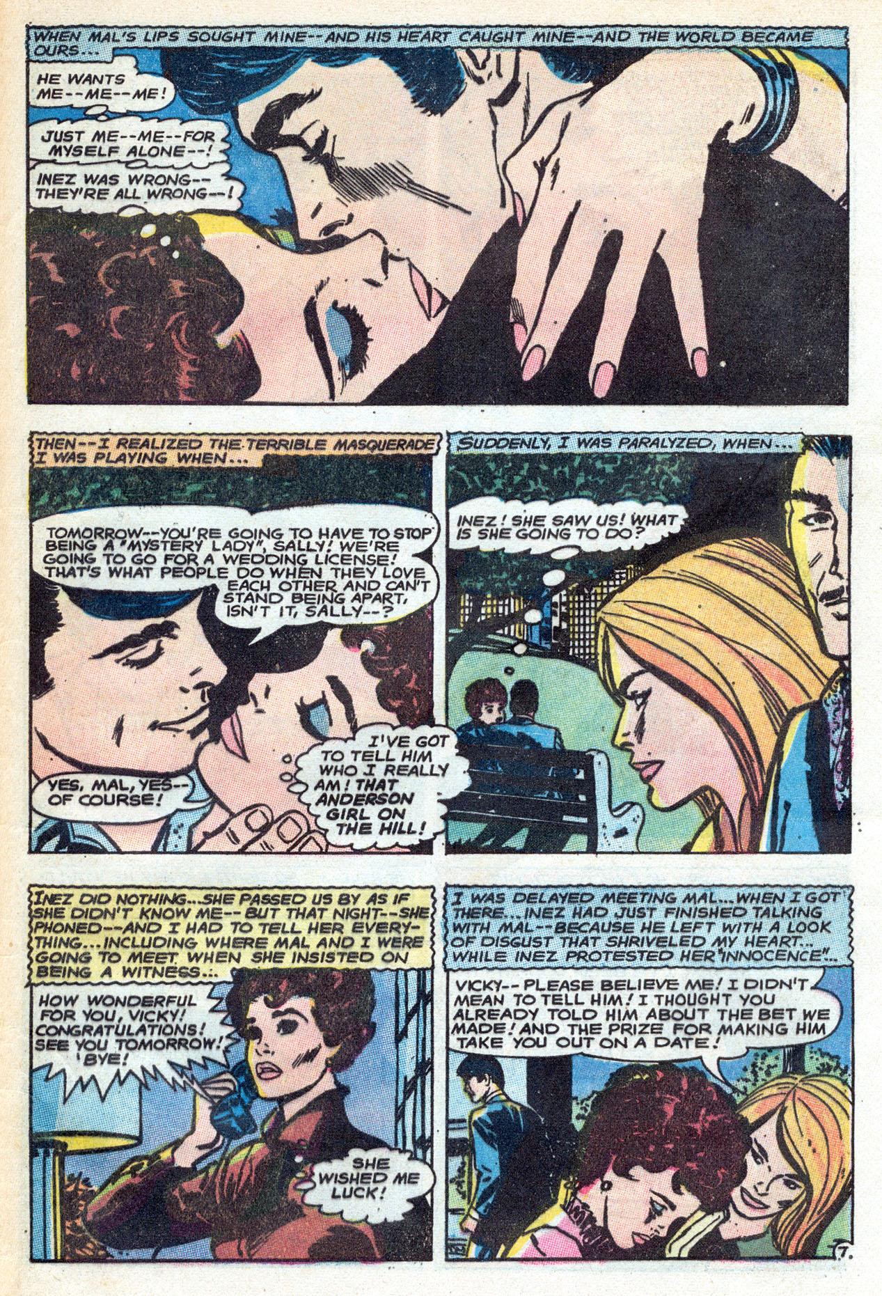 Read online Secret Hearts comic -  Issue #149 - 33