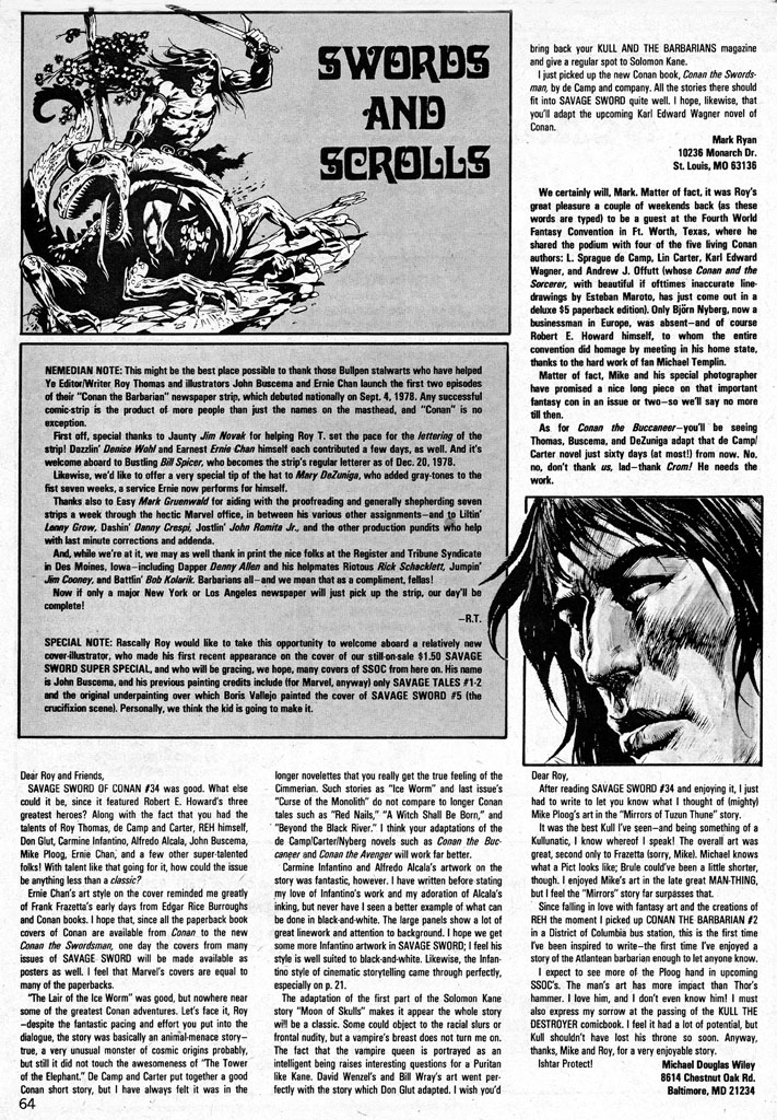 The Savage Sword Of Conan Issue #38 #39 - English 63