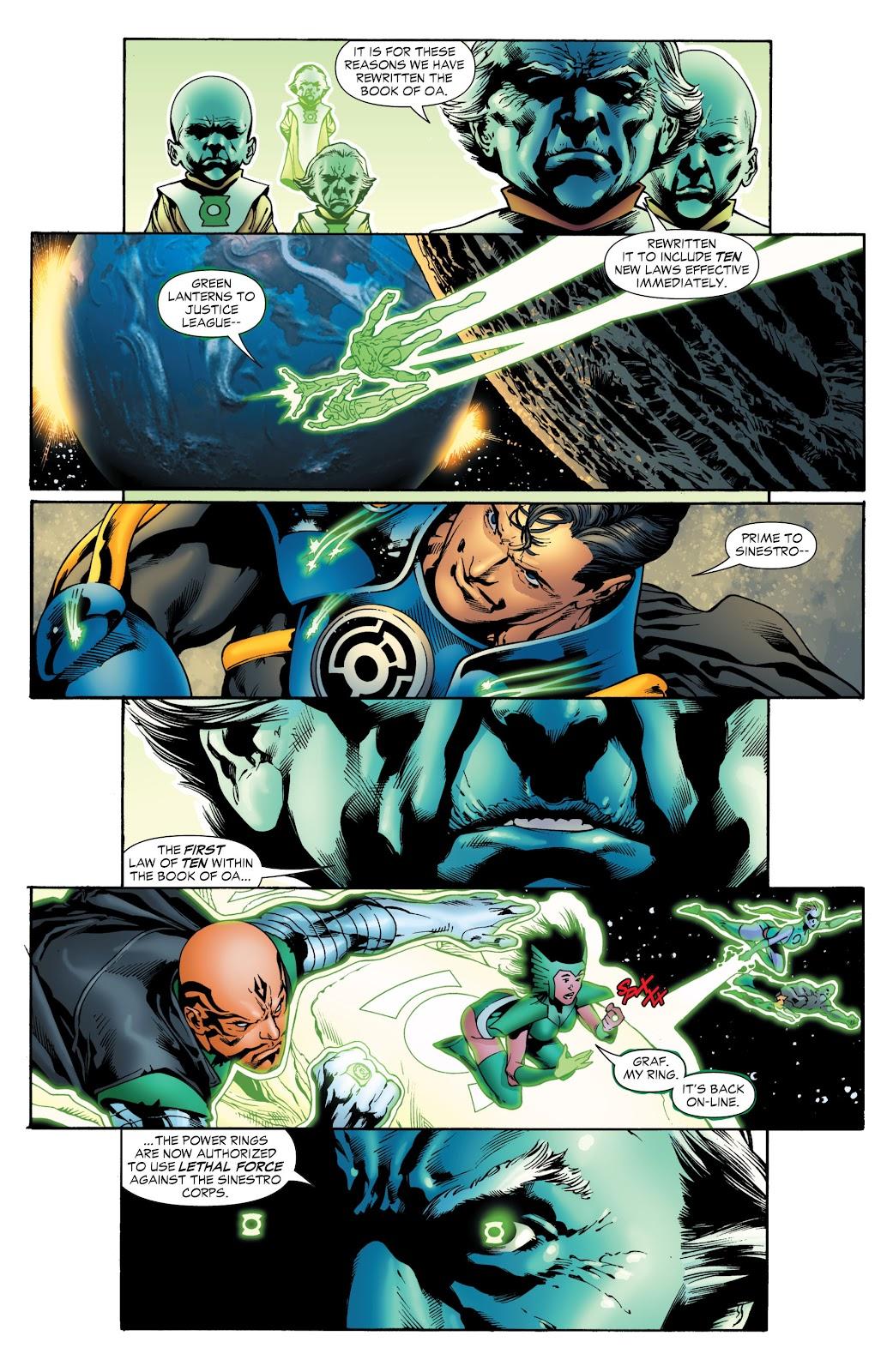 Green Lantern: The Sinestro Corps War Full #1 - English 154