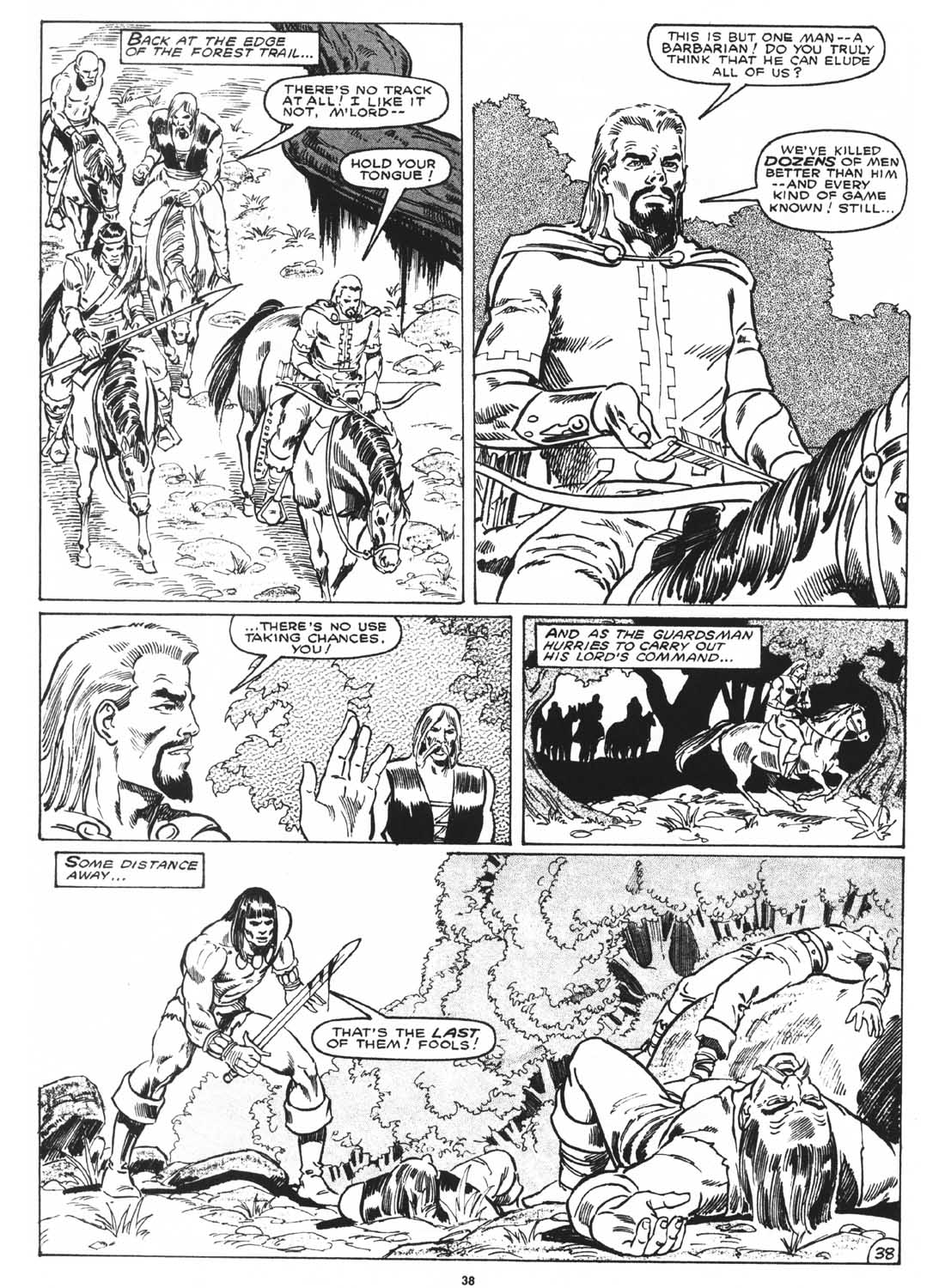 The Savage Sword Of Conan Issue #171 #172 - English 40