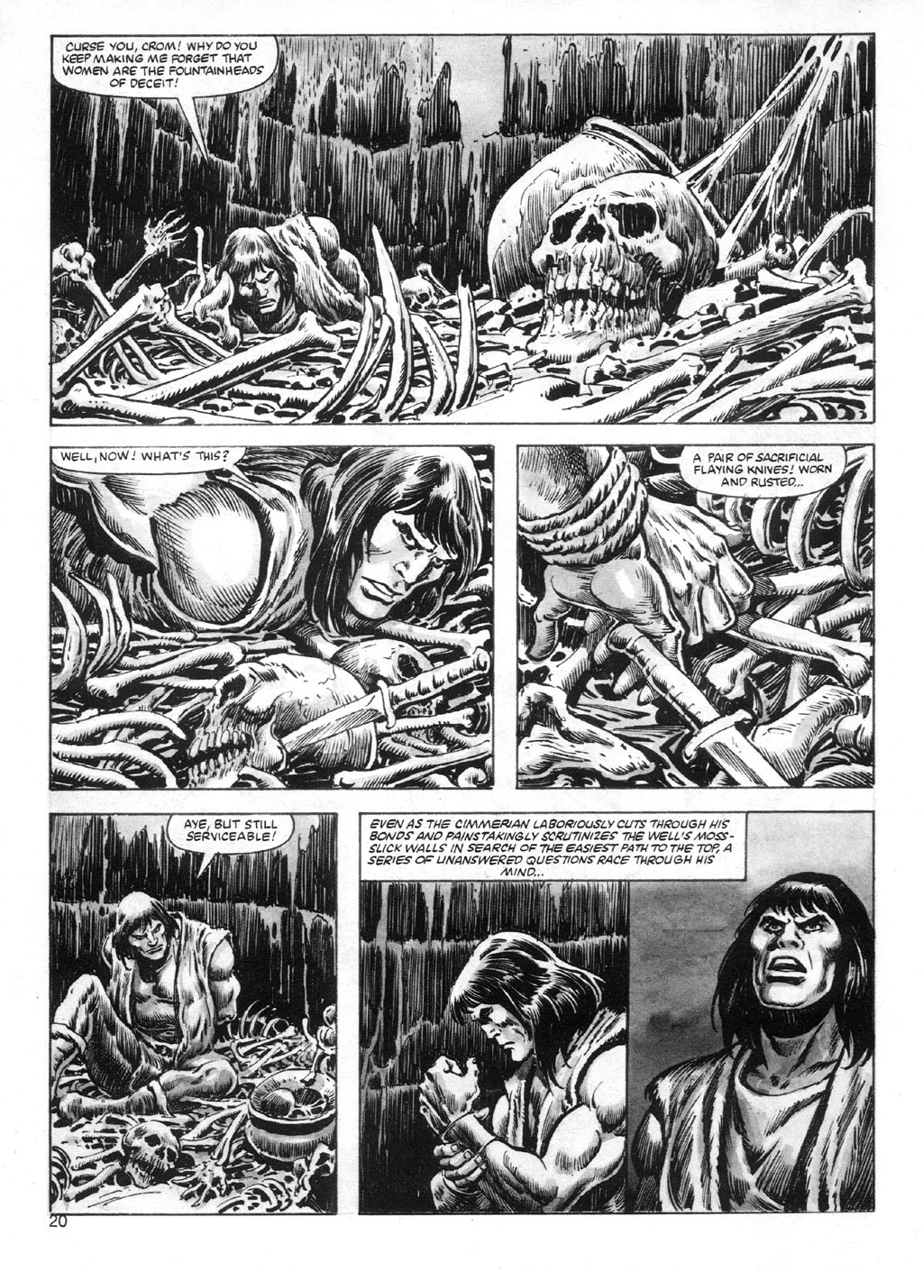 The Savage Sword Of Conan Issue #95 #96 - English 20