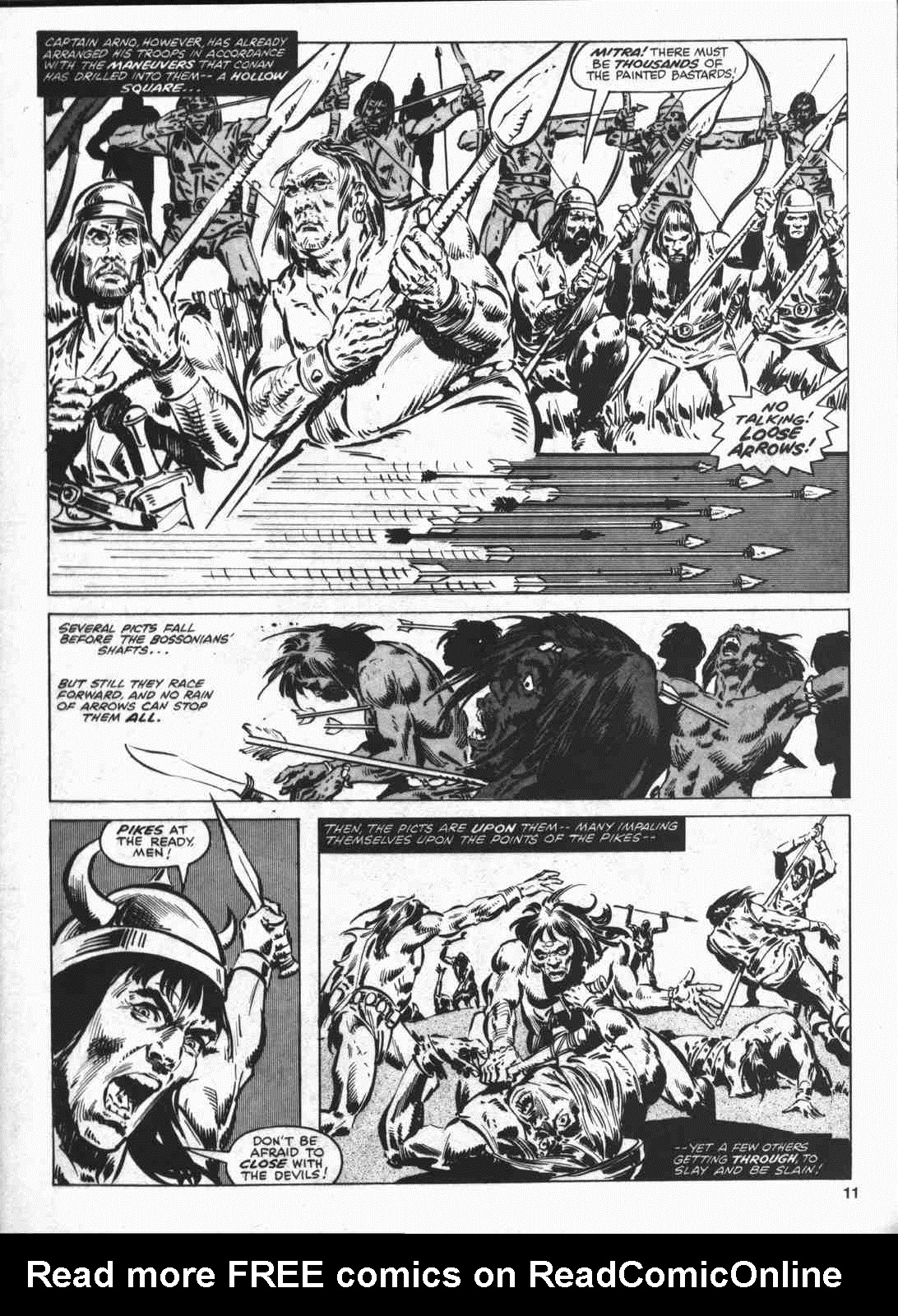 The Savage Sword Of Conan Issue #46 #47 - English 10