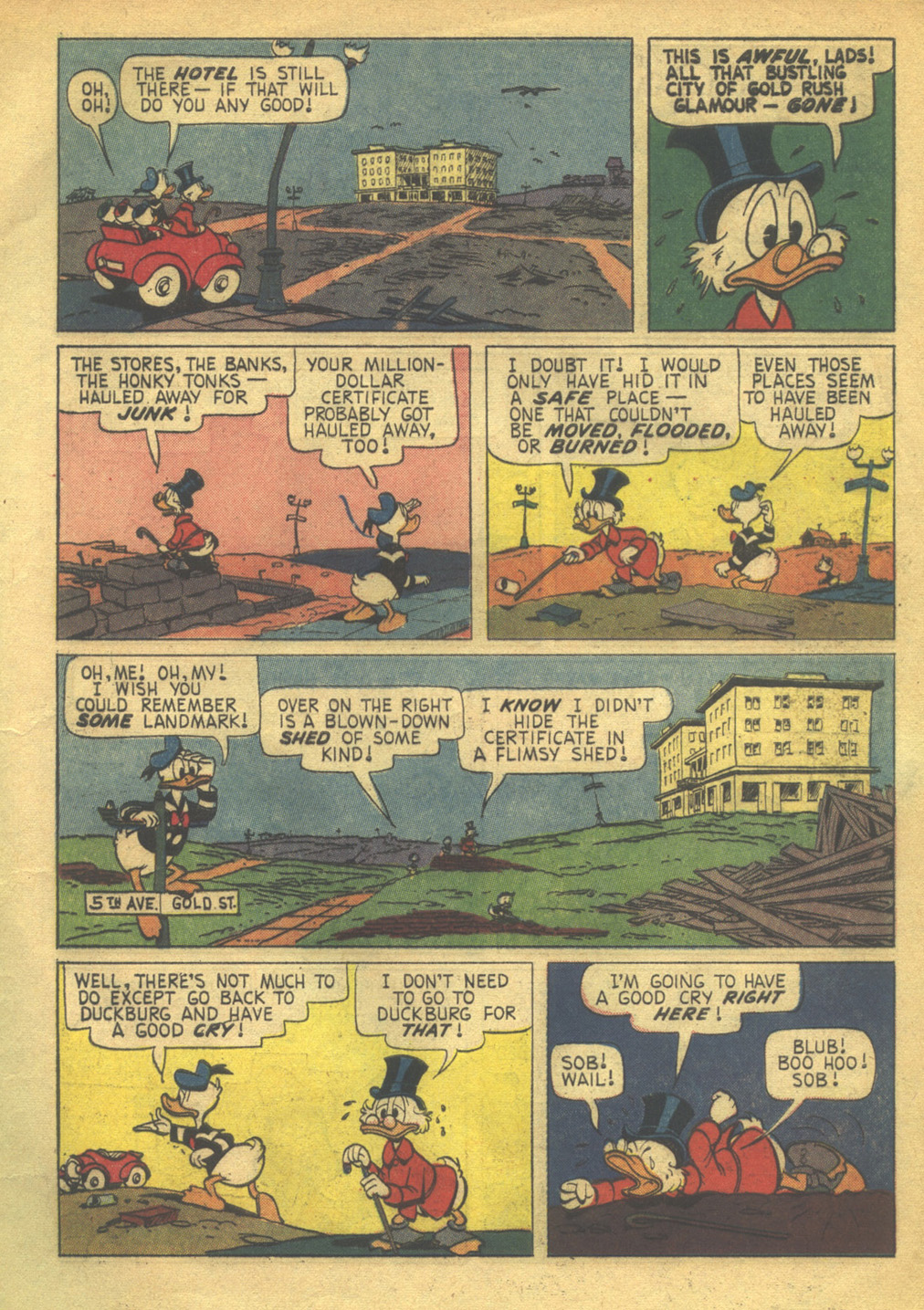 Uncle Scrooge (1953) Issue #56 #56 - English 5