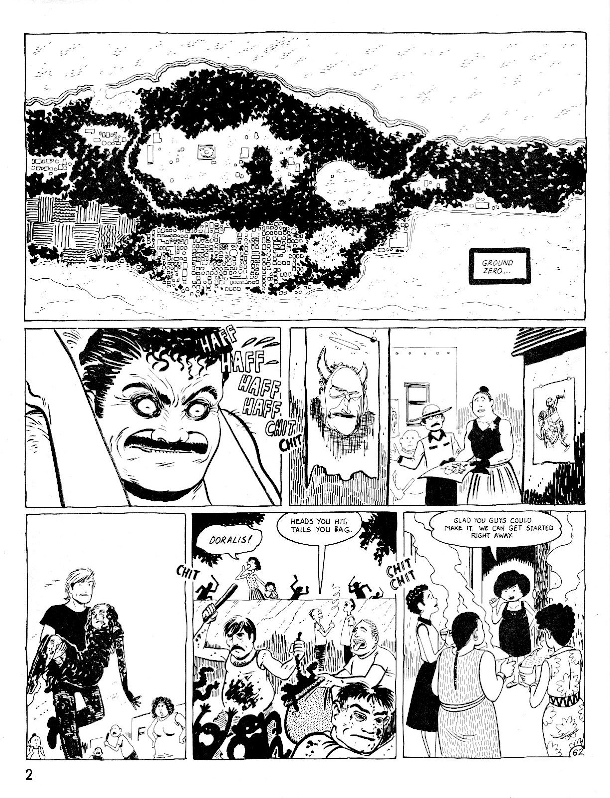 Love and Rockets (1982) Issue #25 #24 - English 6