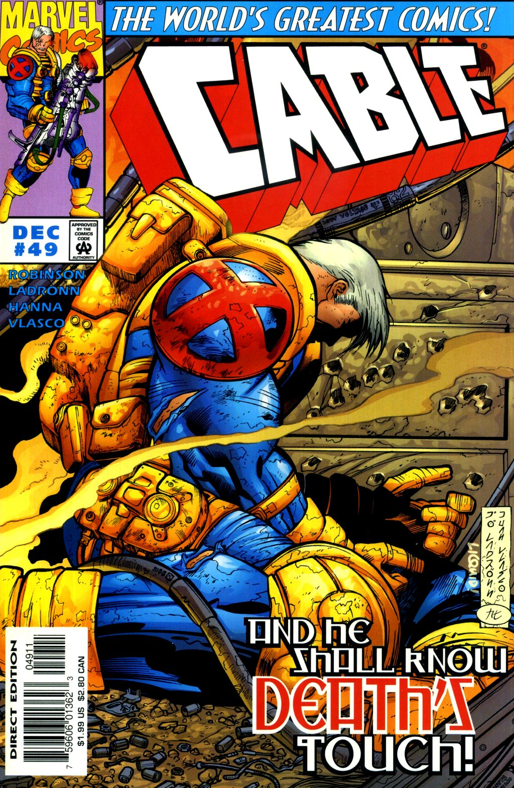 Cable (1993) 49 Page 1