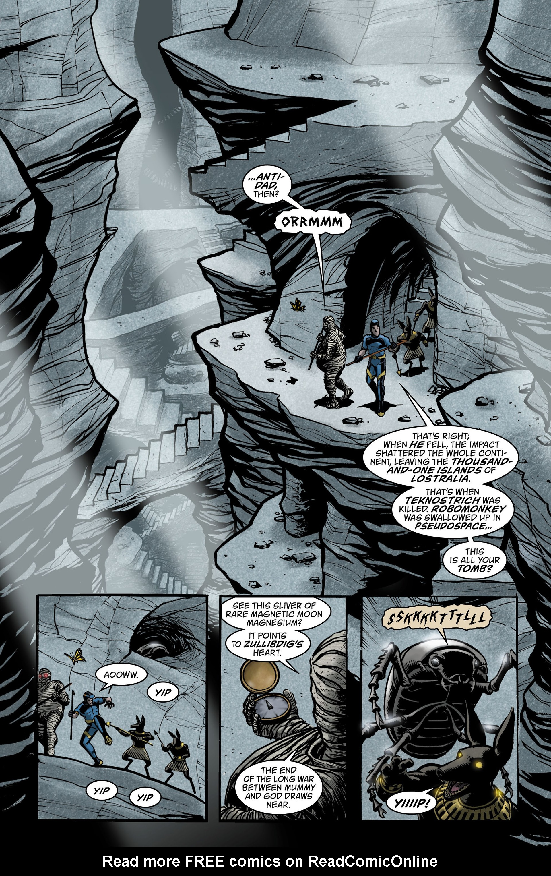 Read online Seaguy comic -  Issue #3 - 21