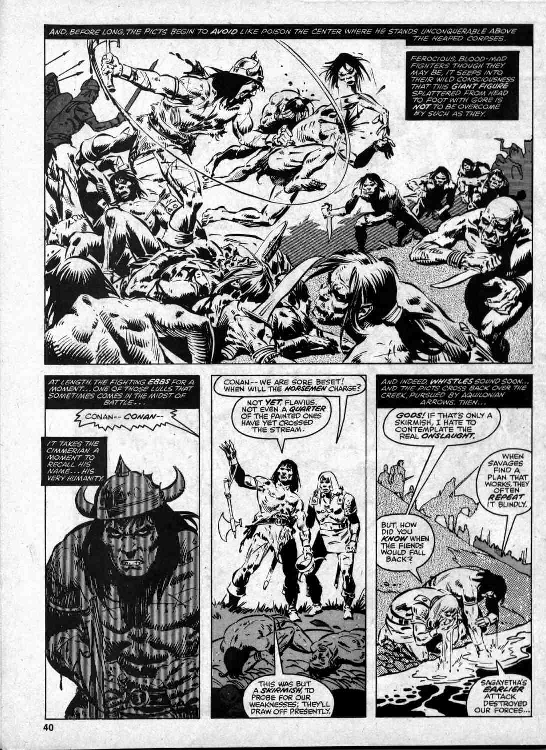 The Savage Sword Of Conan Issue #46 #47 - English 39