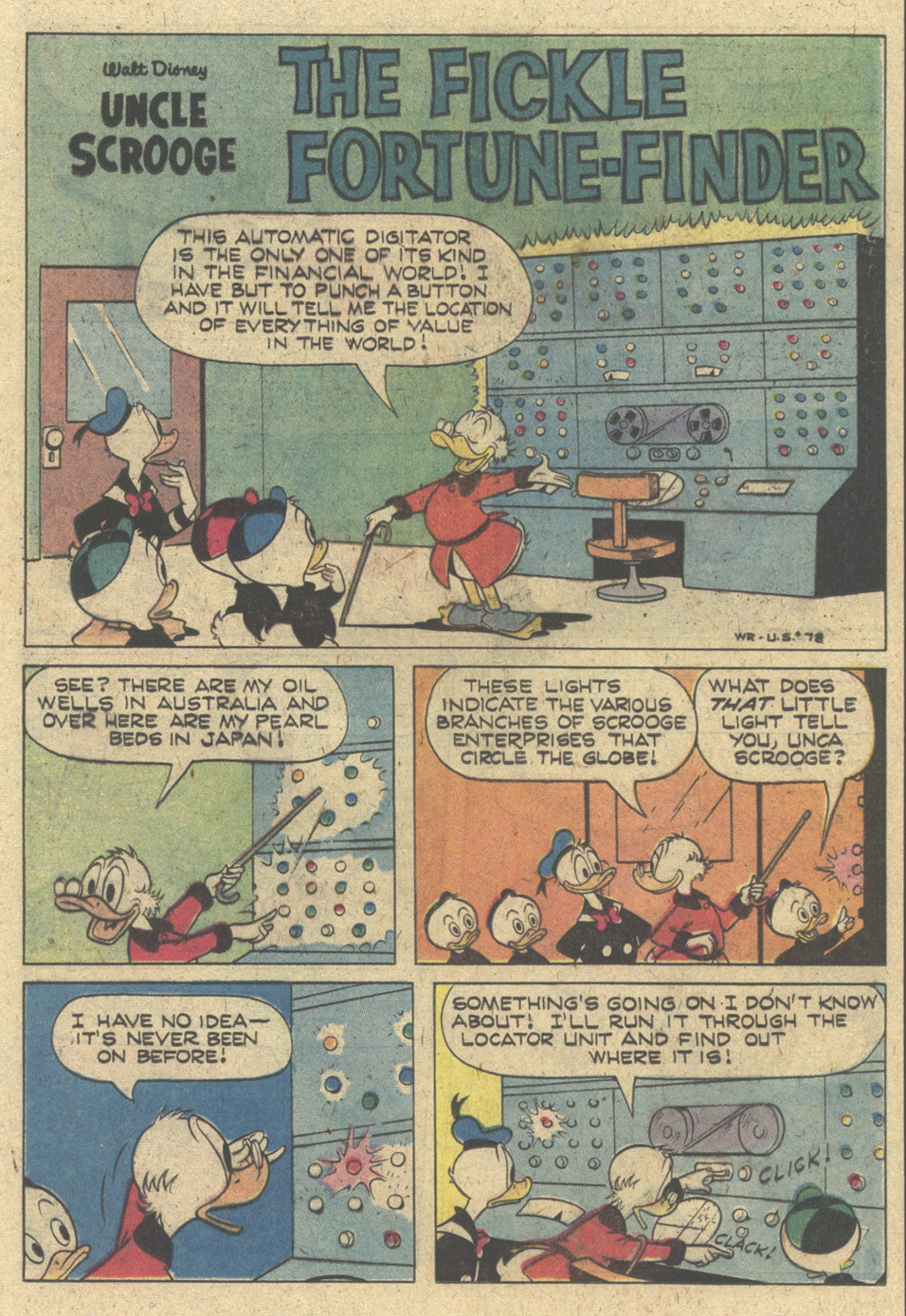 Uncle Scrooge (1953) Issue #170 #170 - English 21