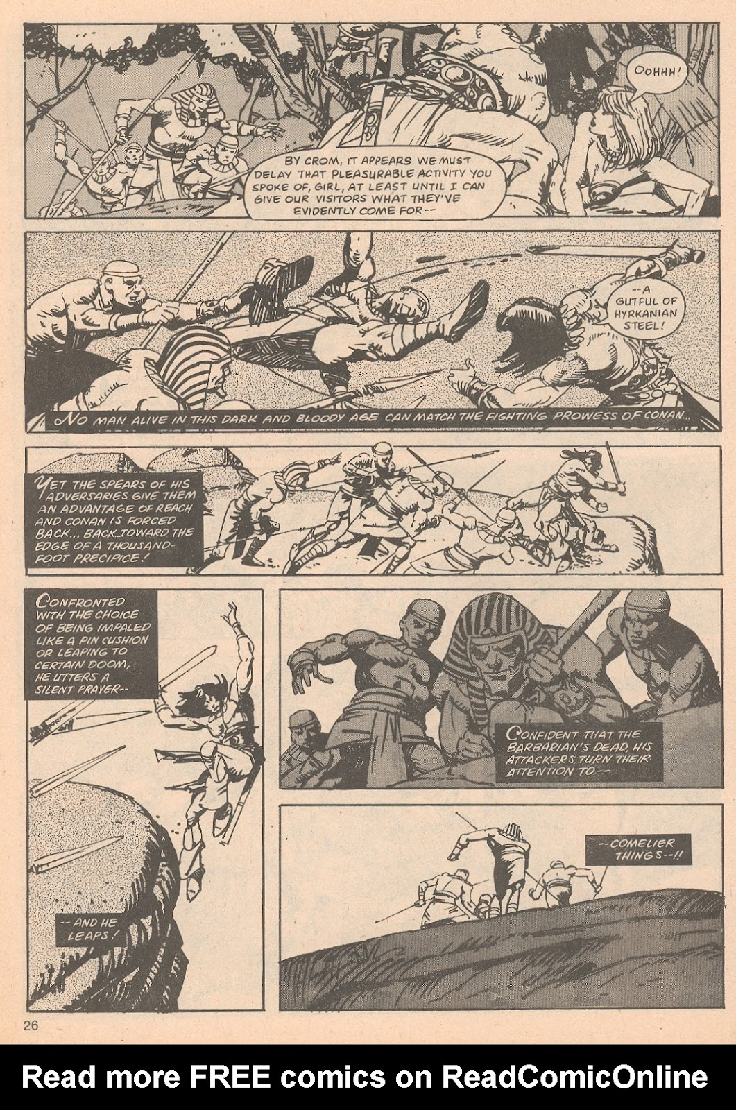 The Savage Sword Of Conan Issue #65 #66 - English 26