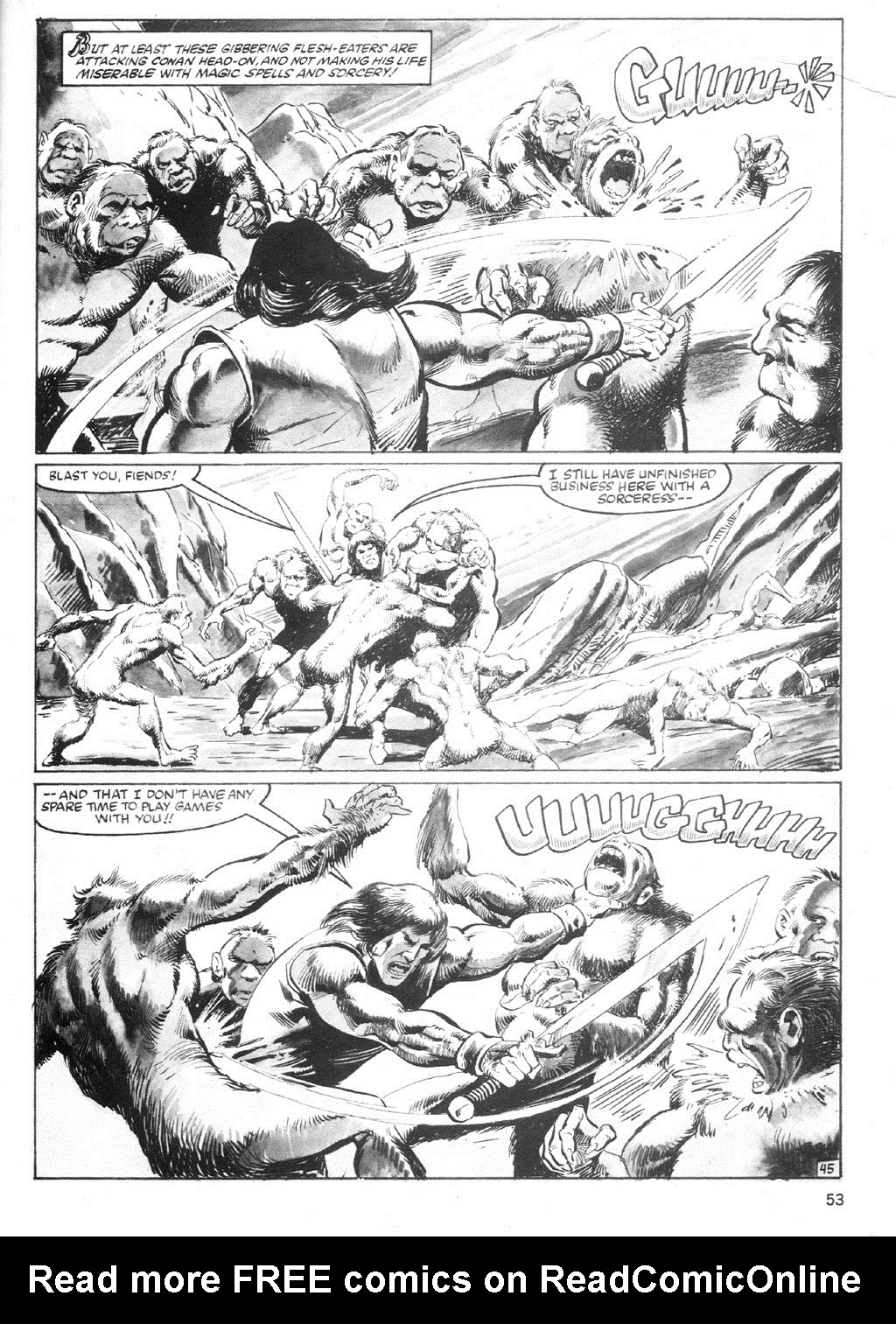 The Savage Sword Of Conan Issue #94 #95 - English 52
