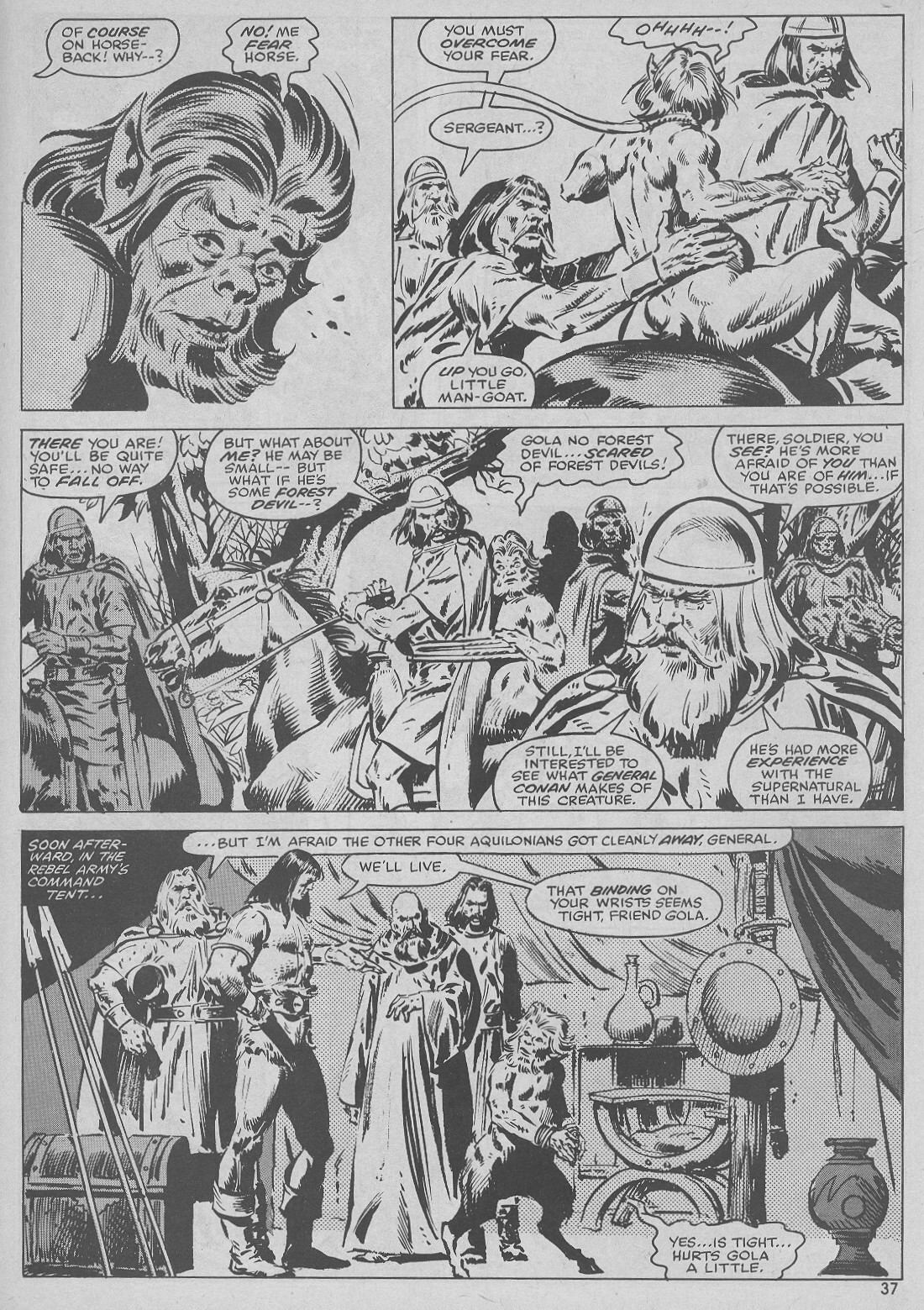 The Savage Sword Of Conan Issue #51 #52 - English 37