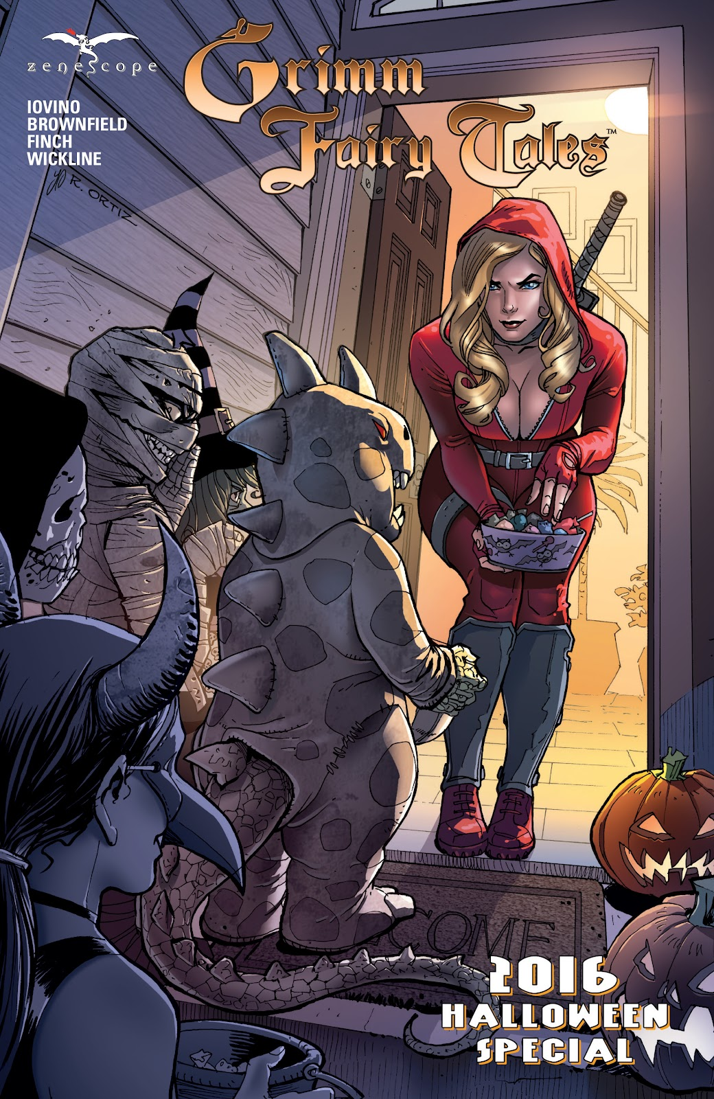 Grimm Fairy Tales (2005) _Special - Halloween Special #2 - English 1
