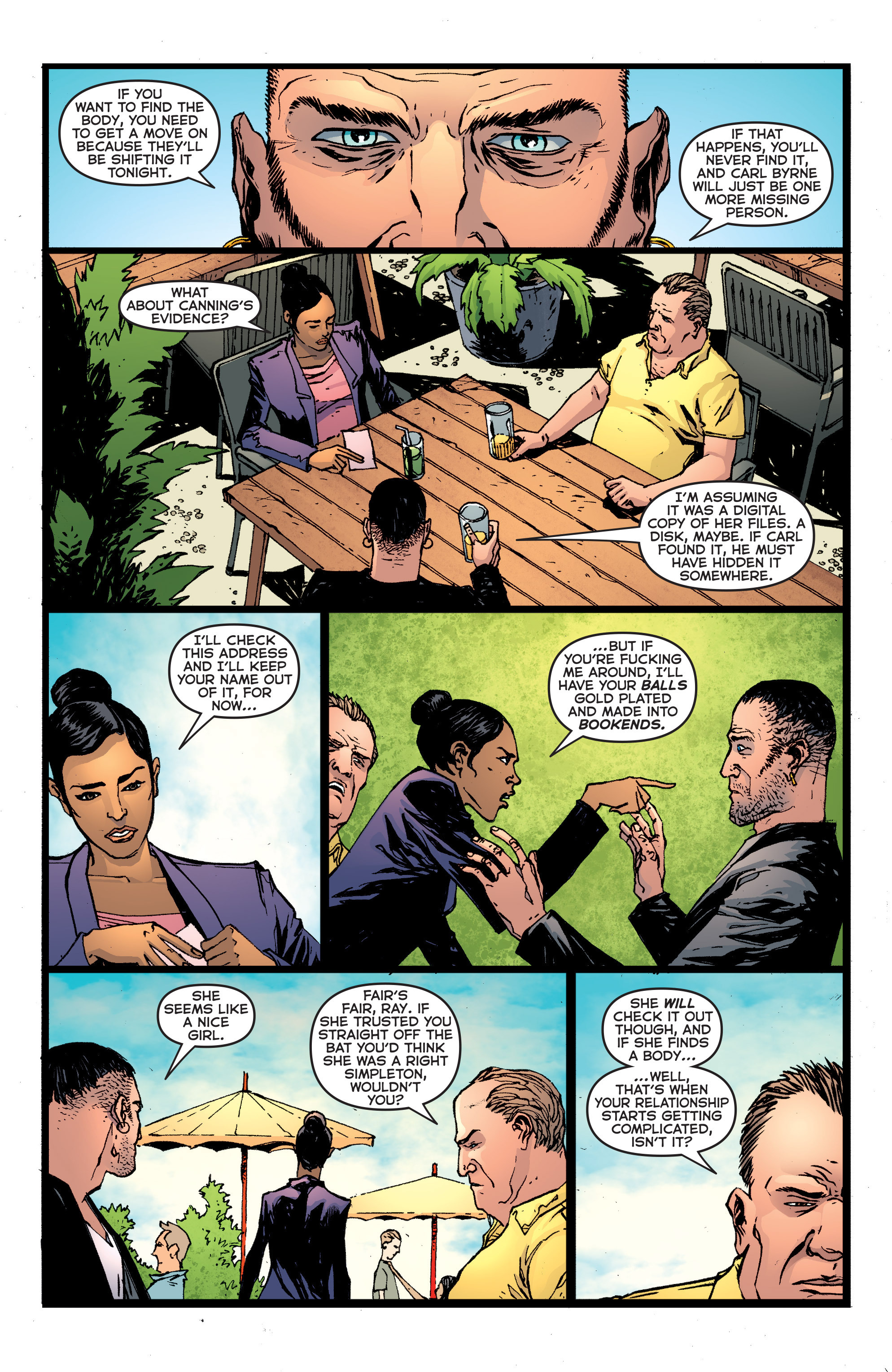 Read online Second Sight comic -  Issue #3 - 9