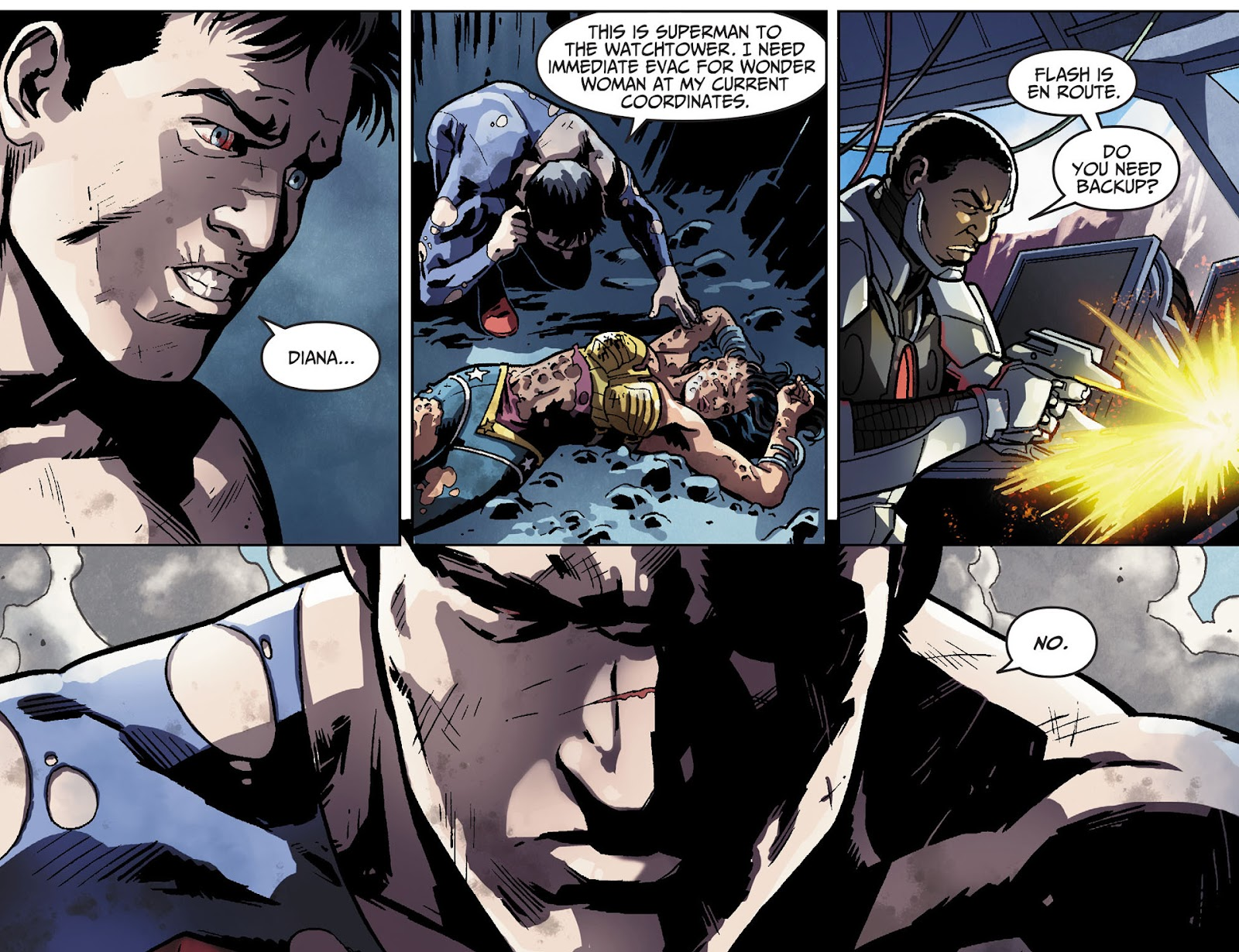 Injustice: Gods Among Us [I] Issue #33 #34 - English 6