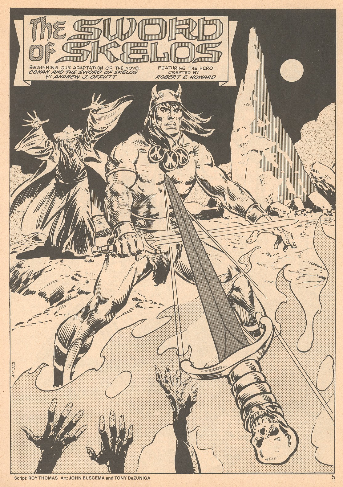The Savage Sword Of Conan Issue #56 #57 - English 5