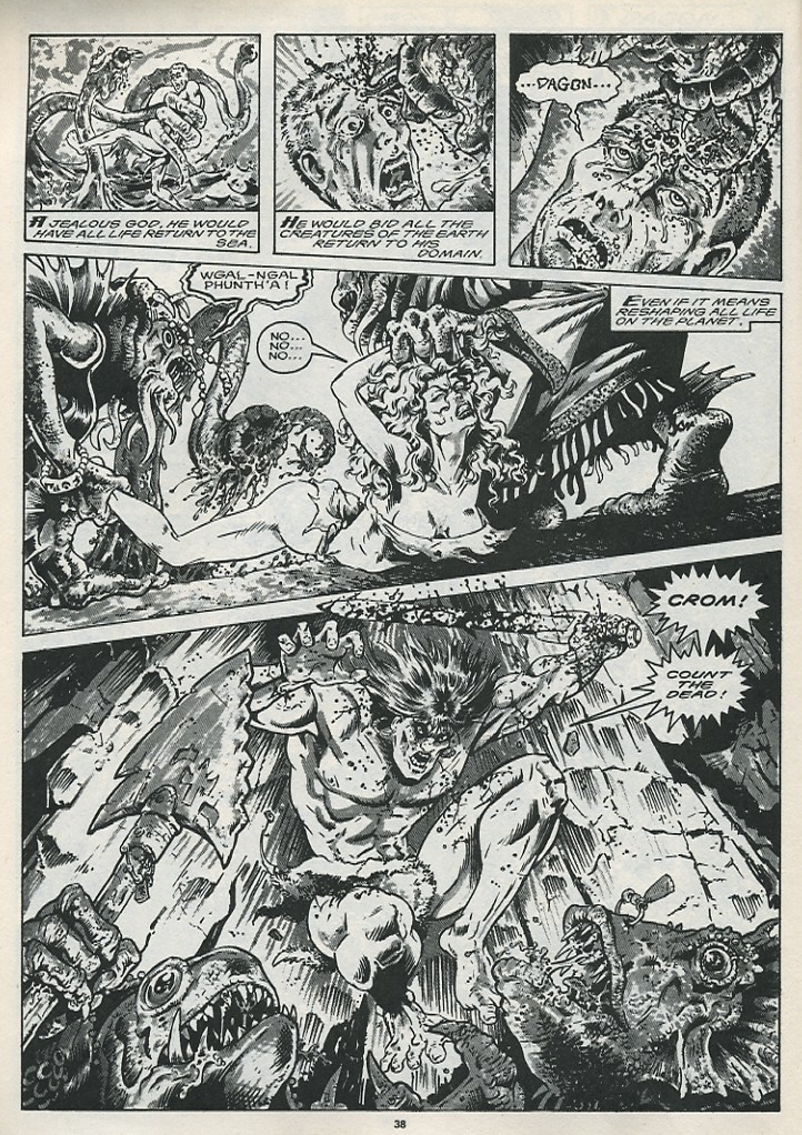 The Savage Sword Of Conan Issue #176 #177 - English 40