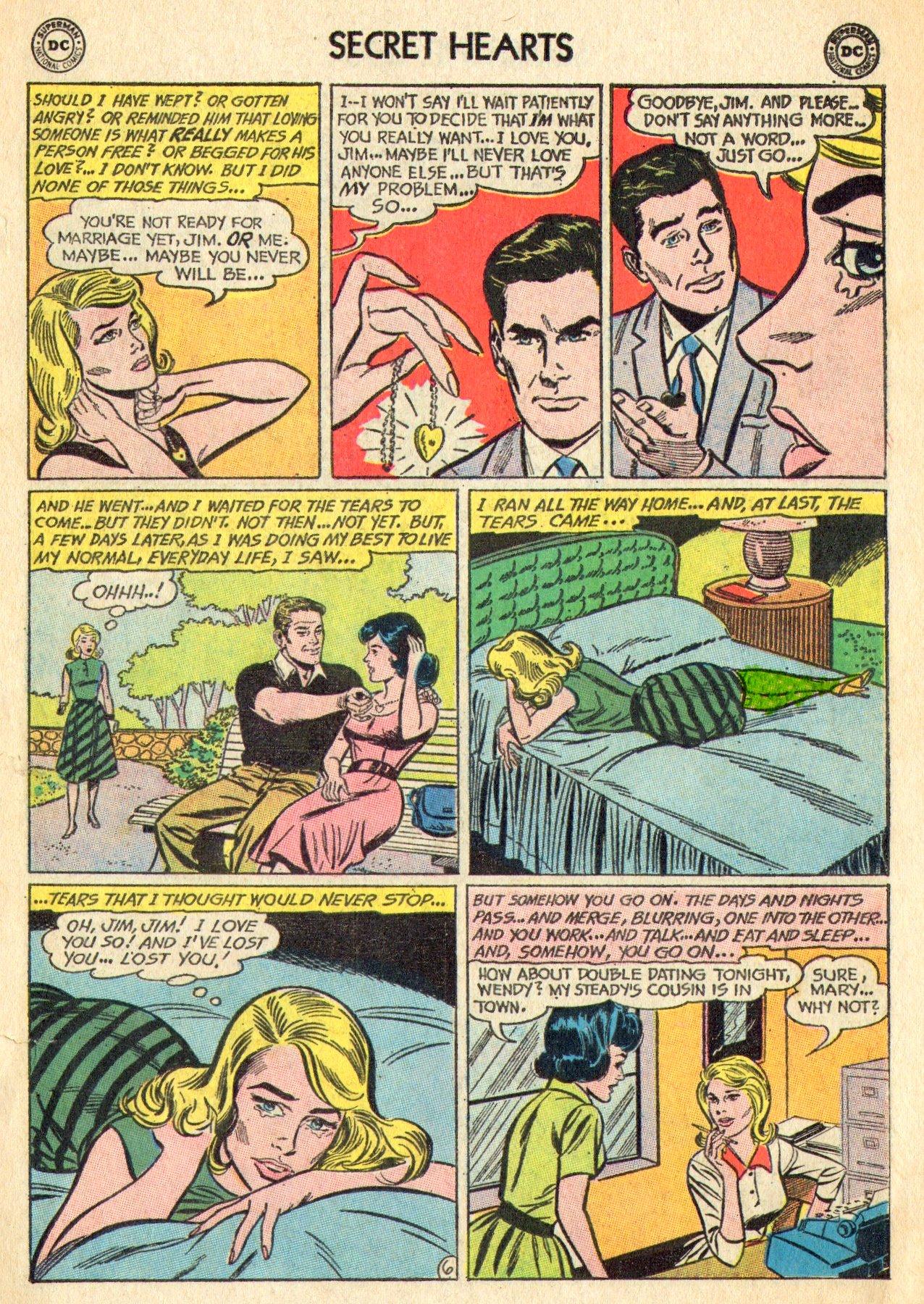 Read online Secret Hearts comic -  Issue #101 - 15