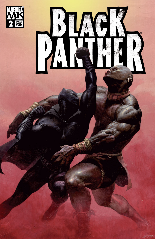 Black Panther (2005) 2 Page 1
