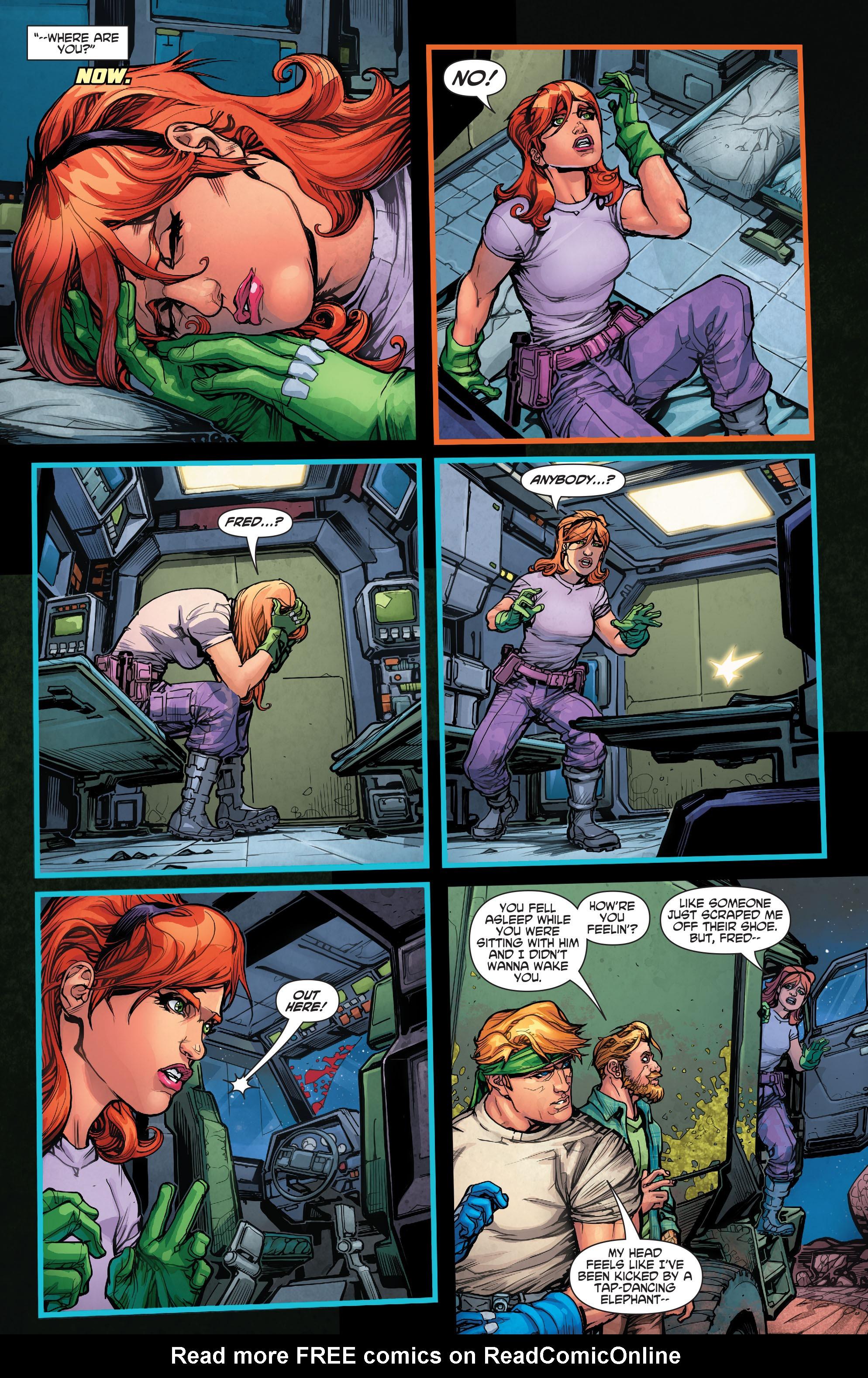 Read online Scooby Apocalypse comic -  Issue #3 - 11