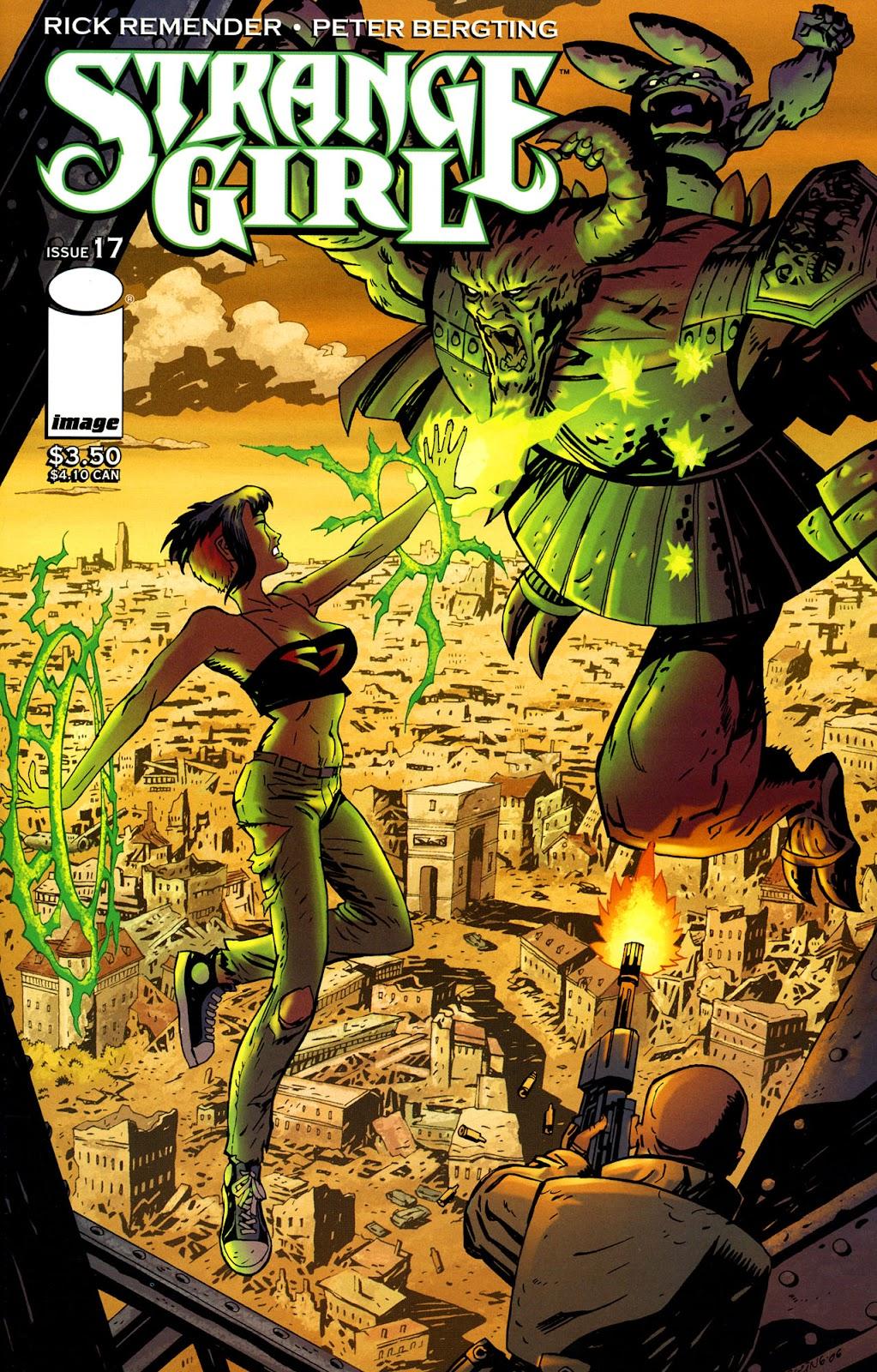 Strange Girl Issue #17 #18 - English 1