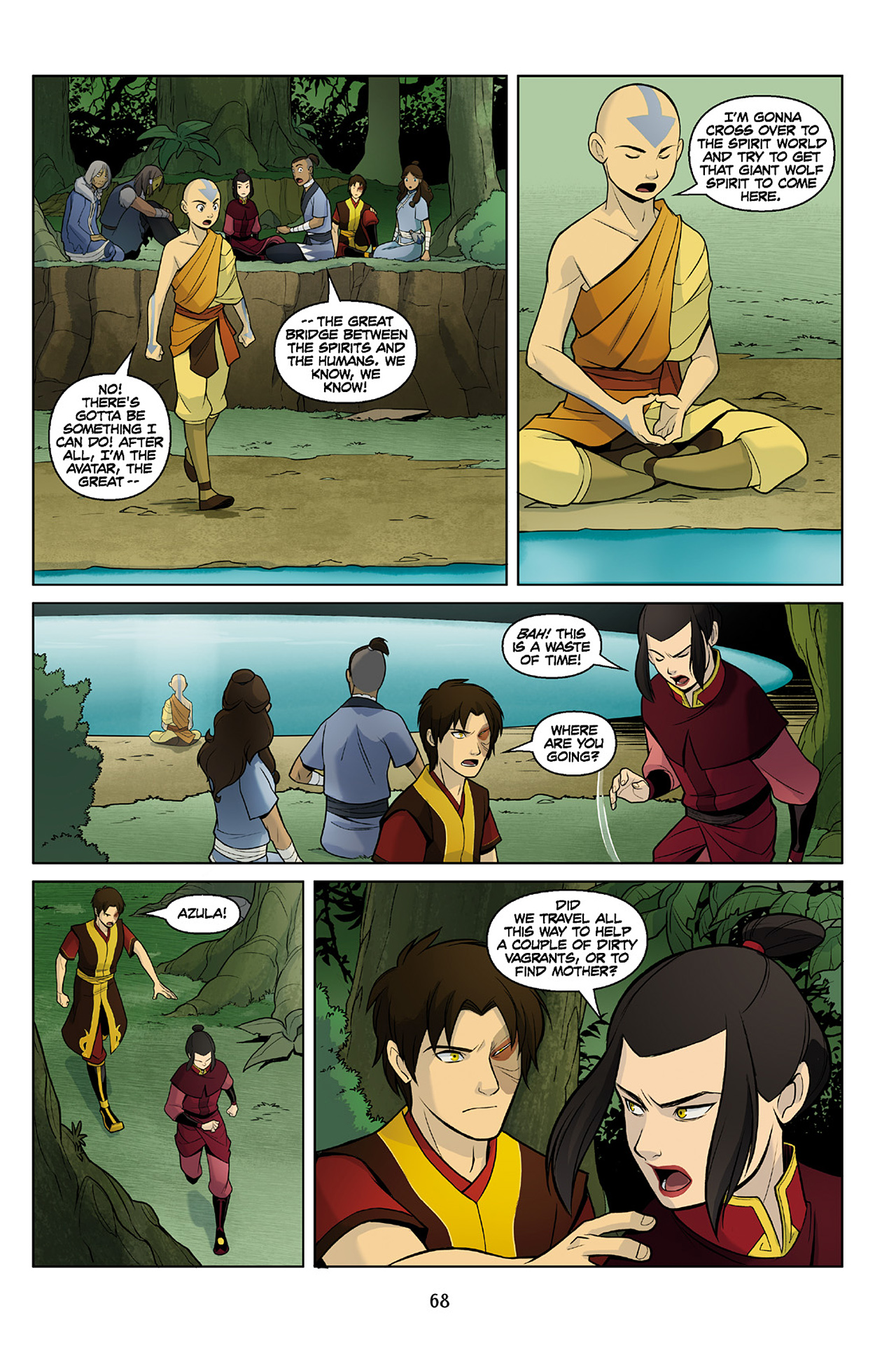 Read online Nickelodeon Avatar: The Last Airbender - The Search comic -  Issue # Part 2 - 69