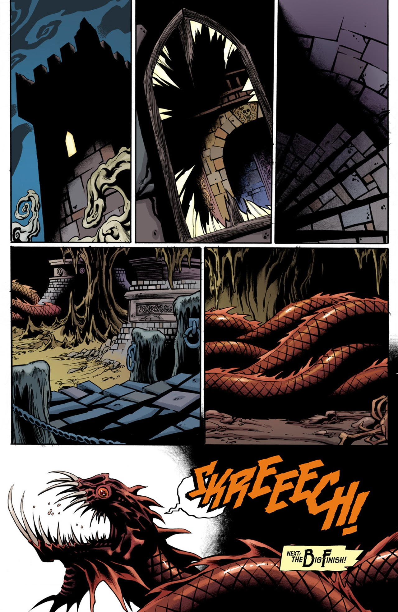 Read online Billy the Kid's Old Timey Oddities and the Orm of Loch Ness comic -  Issue #3 - 23