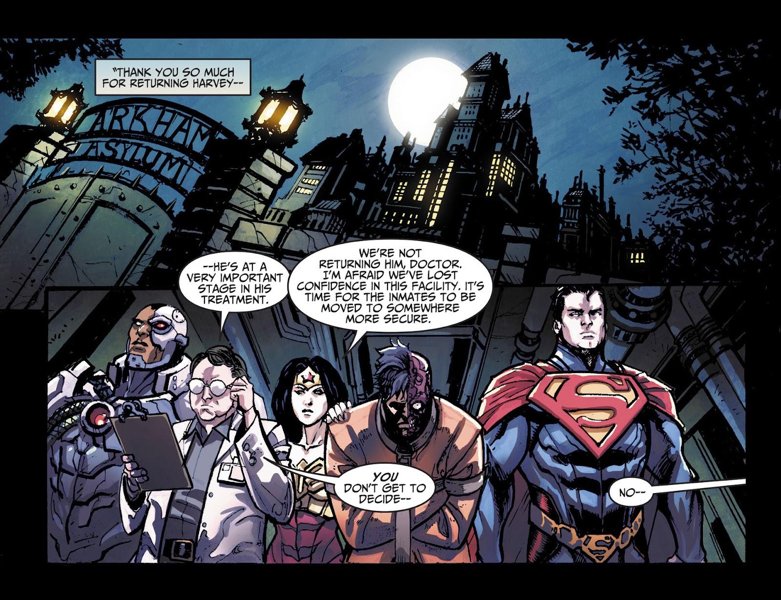 Injustice: Gods Among Us [I] Issue #14 #15 - English 21