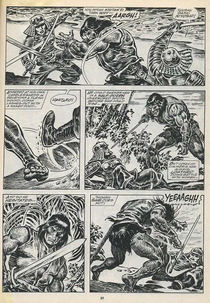 The Savage Sword Of Conan Issue #194 #195 - English 39
