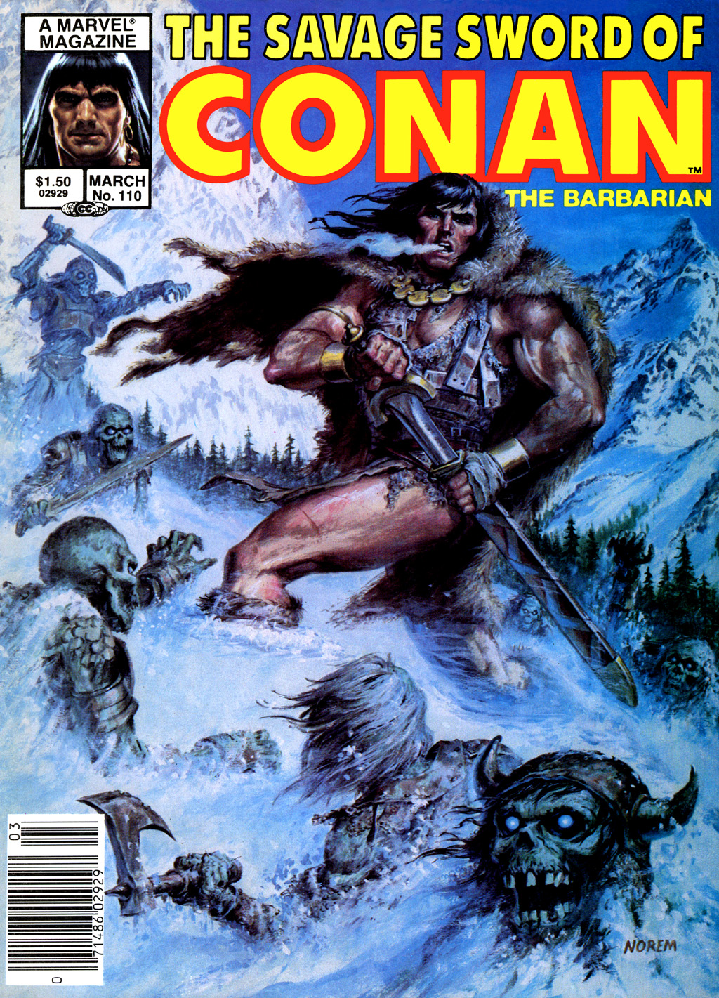 The Savage Sword Of Conan Issue #110 #111 - English 2