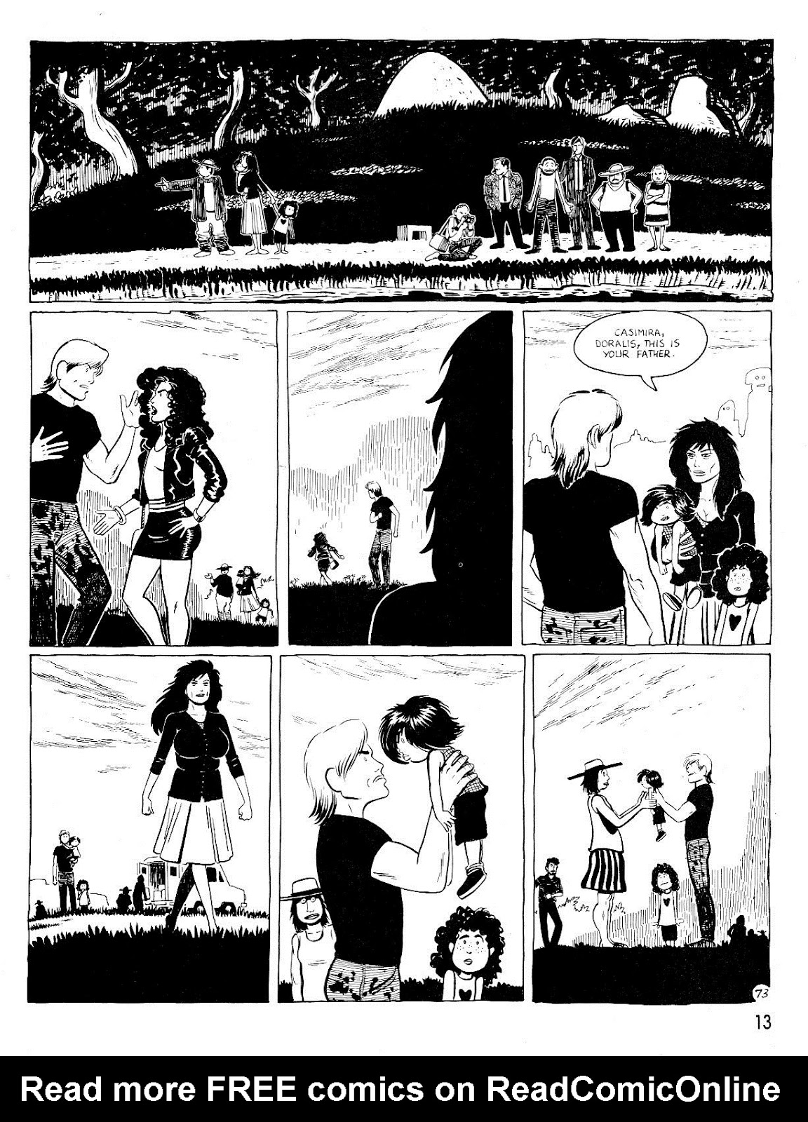 Love and Rockets (1982) Issue #25 #24 - English 17