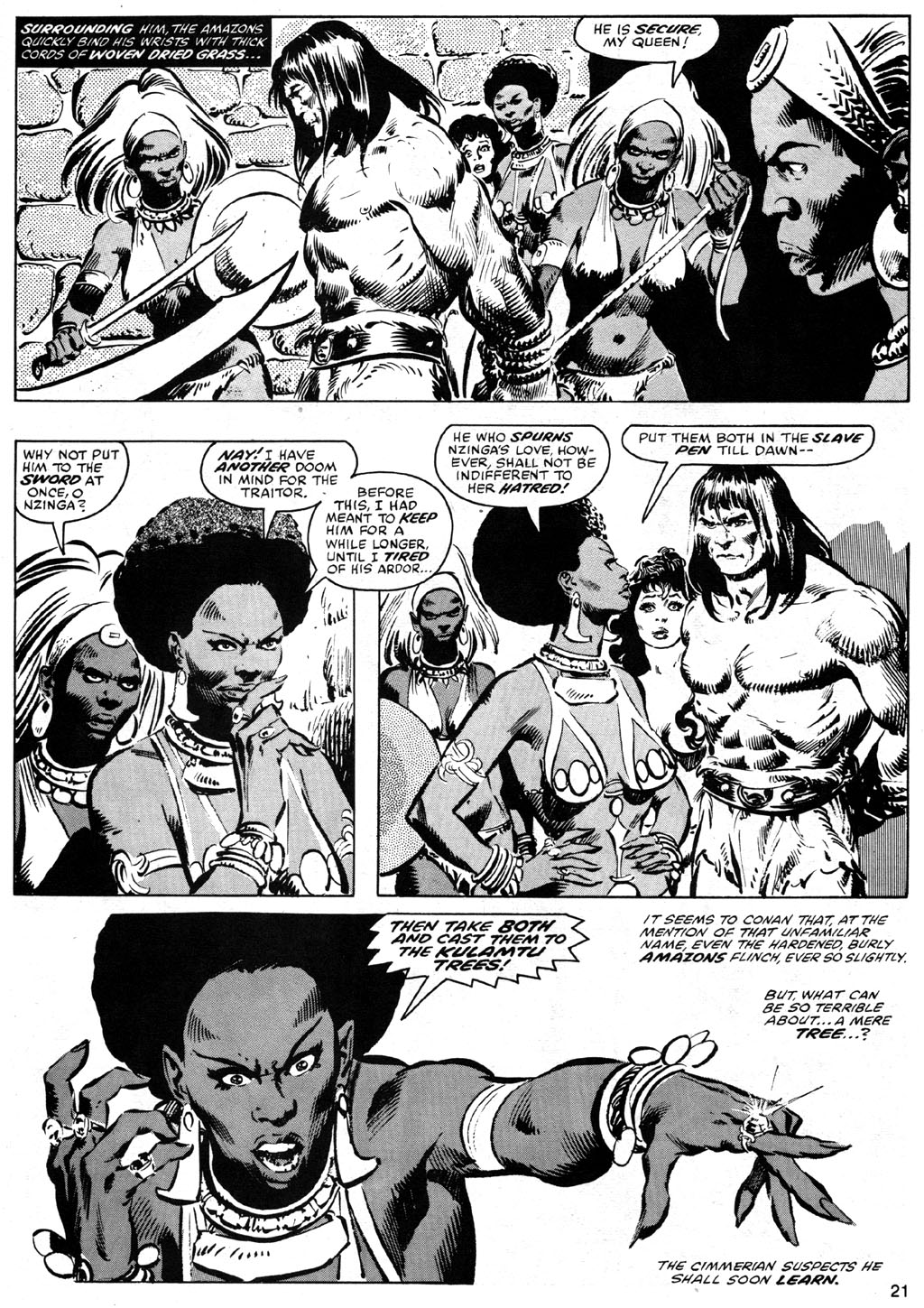 The Savage Sword Of Conan Issue #42 #43 - English 21