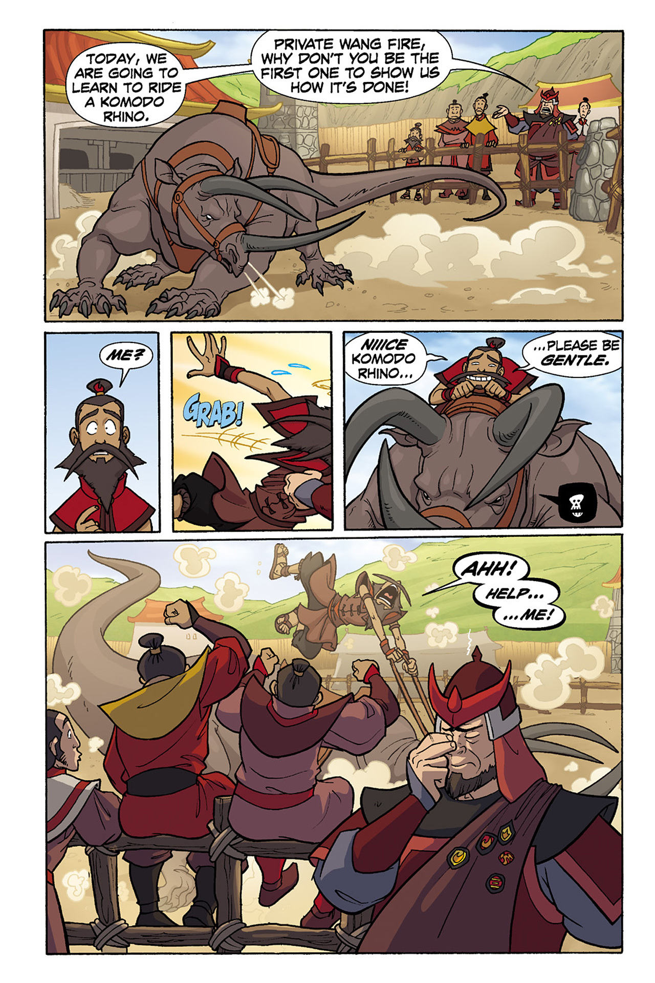 Nickelodeon Avatar: The Last Airbender - The Lost Adventures chap full pic 124