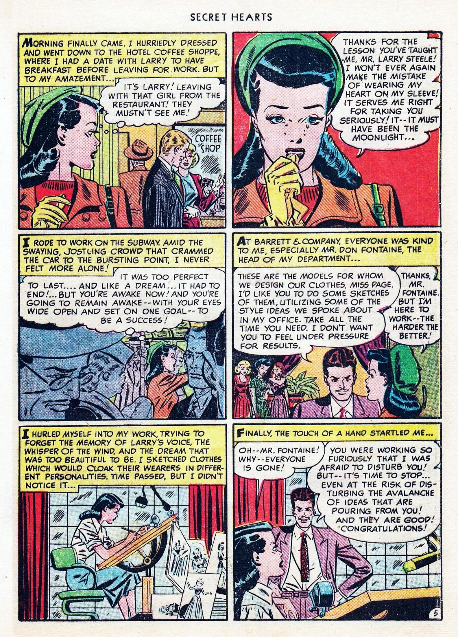 Read online Secret Hearts comic -  Issue #1 - 41