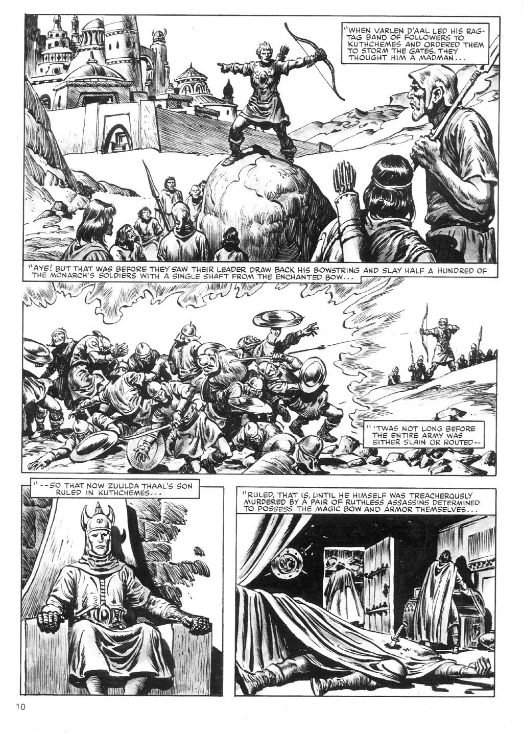 The Savage Sword Of Conan Issue #87 #88 - English 10