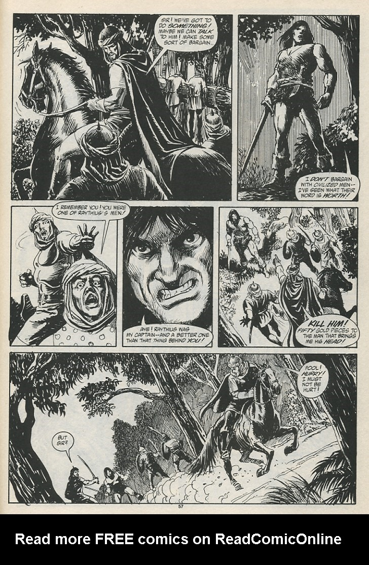 The Savage Sword Of Conan Issue #189 #190 - English 59
