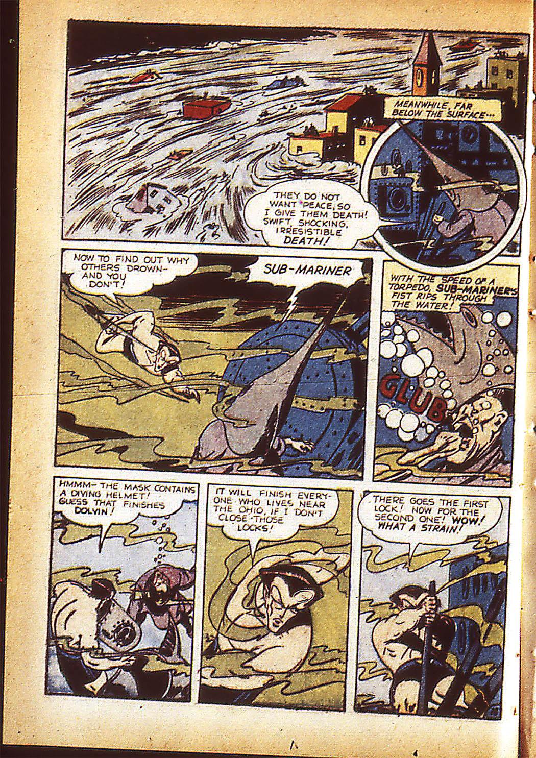 Sub-Mariner Comics Issue #10 #10 - English 21